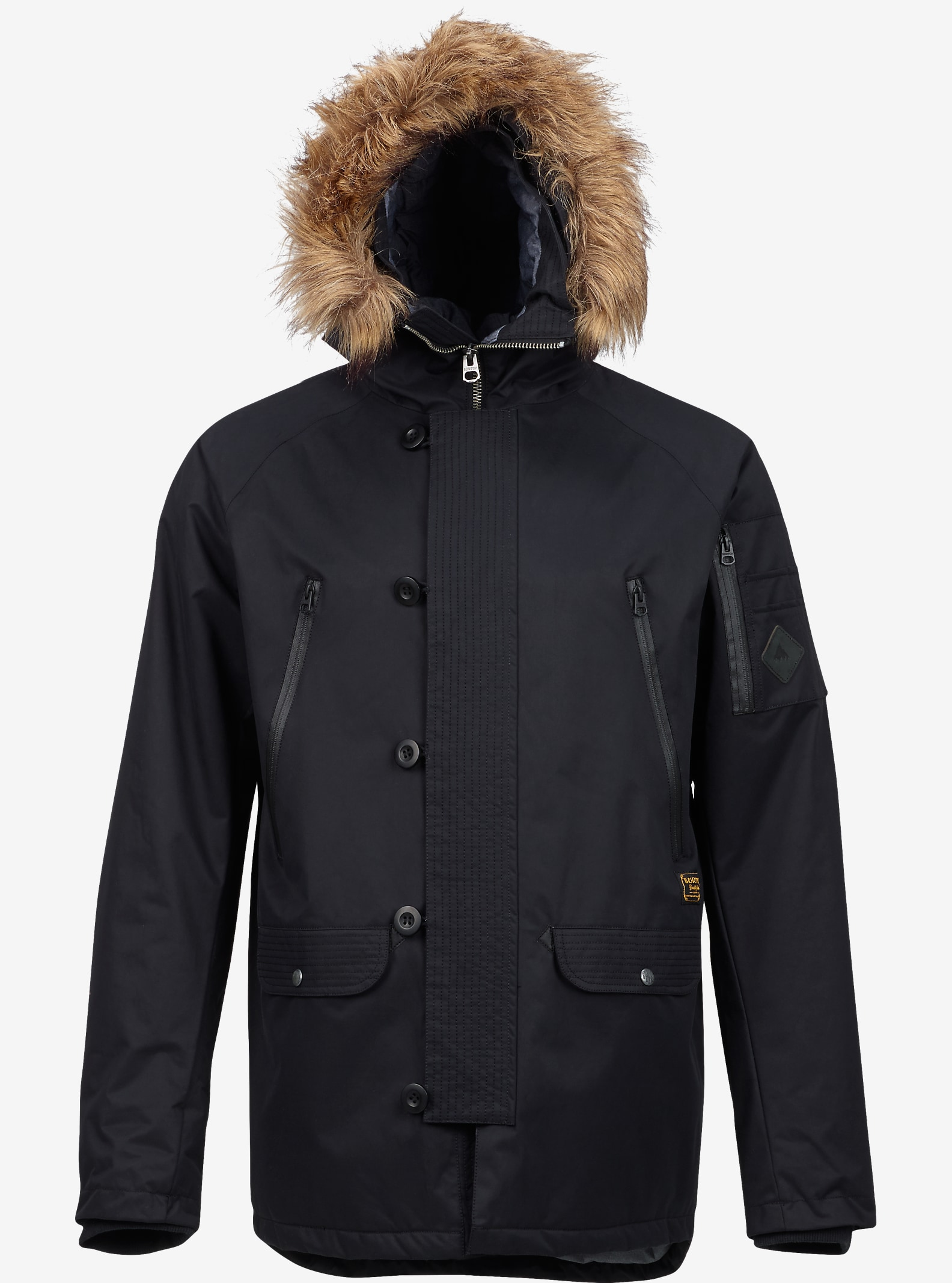 Burton Bryce Jacket shown in True Black