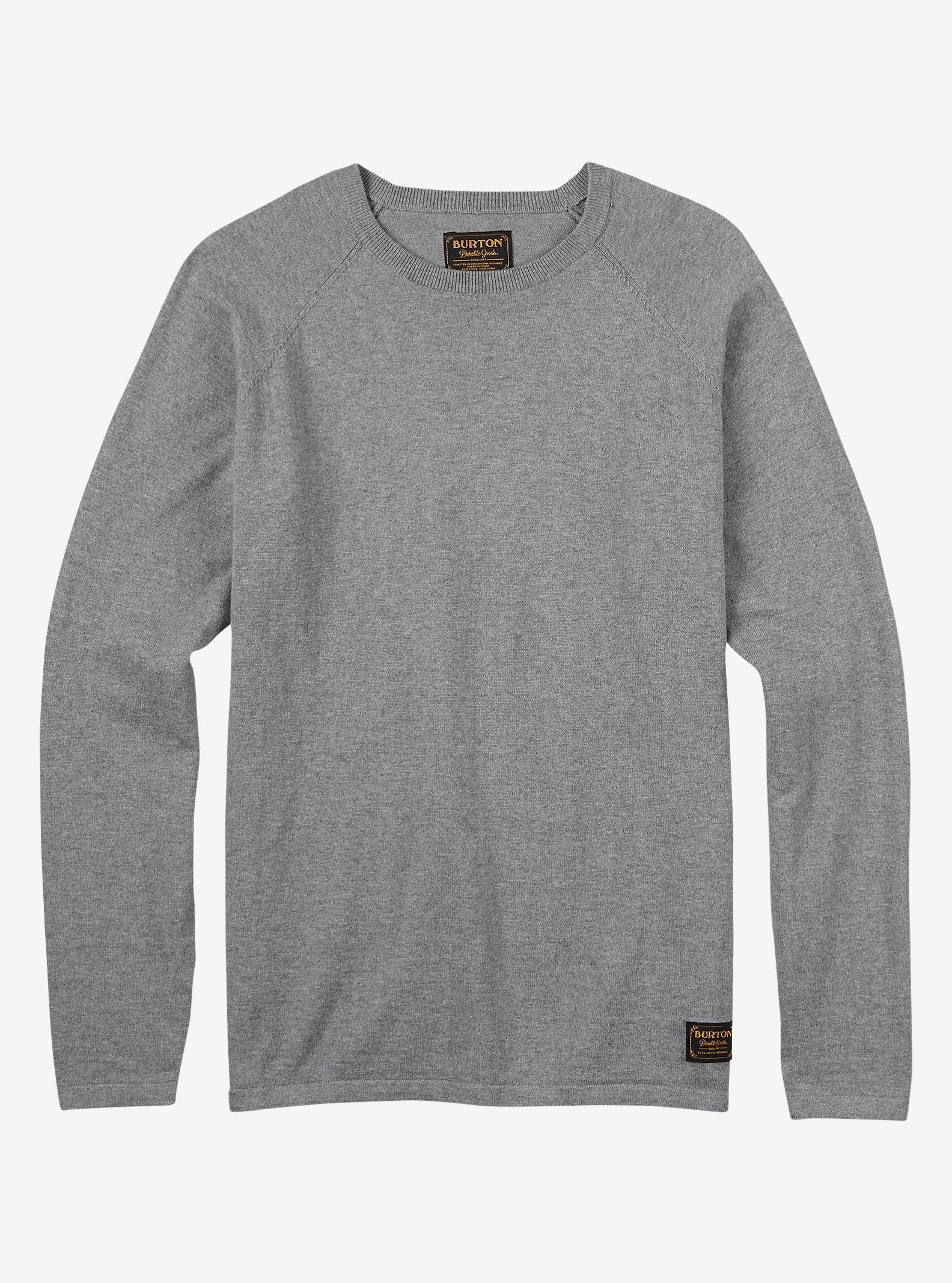 Burton Stowe Raglan Sweater shown in Monument Heather