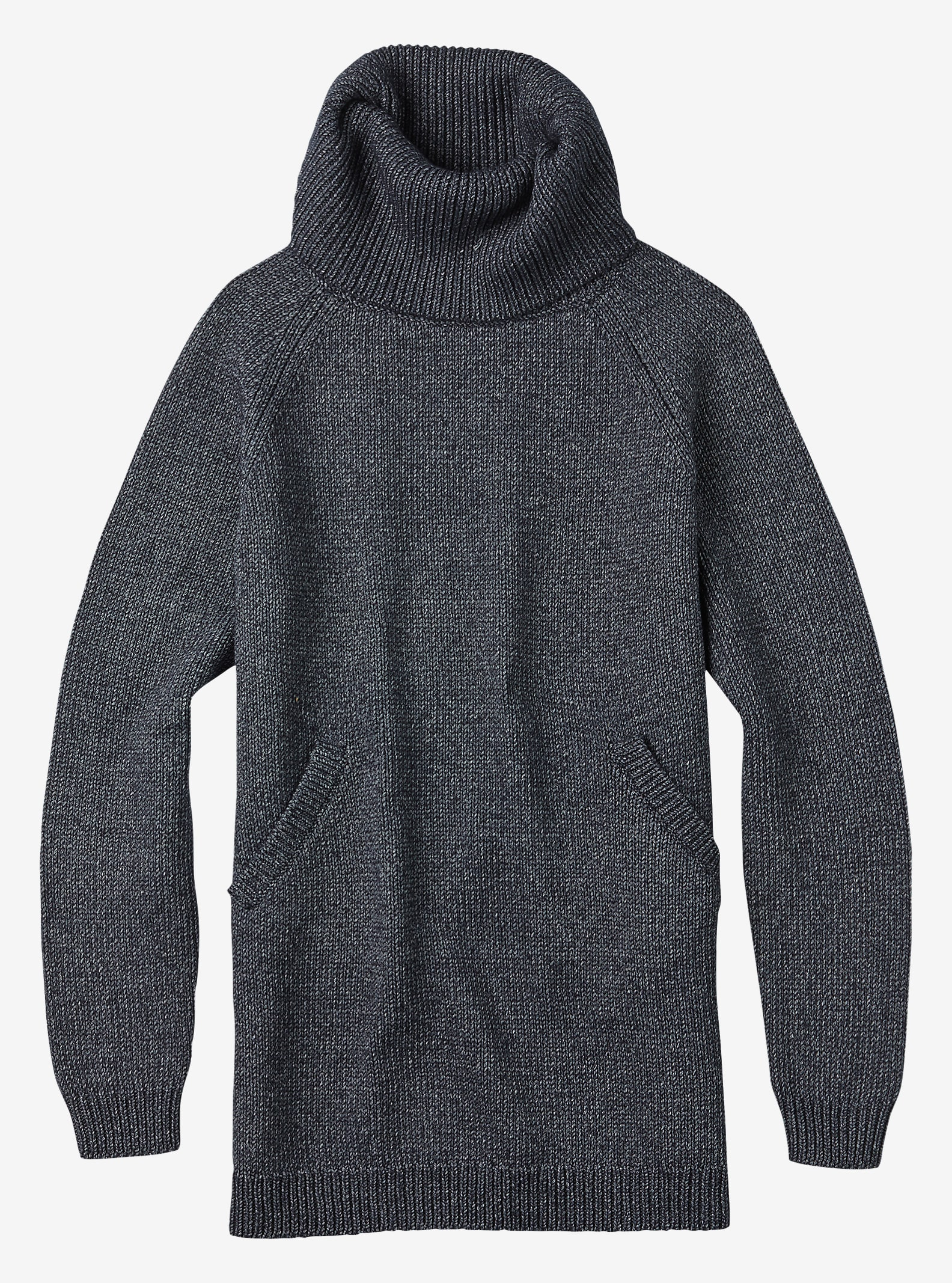 Burton Avalanche Sweater shown in True Blue Heather