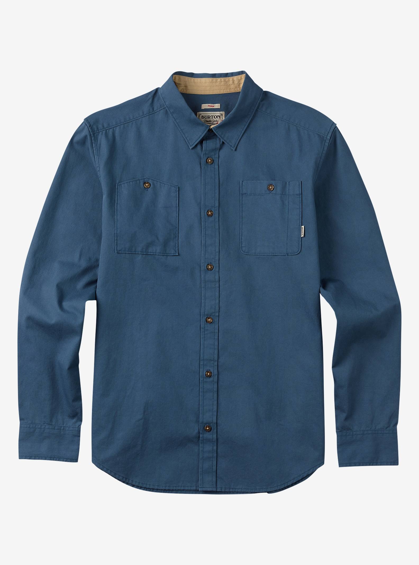 Burton Glade Long Sleeve Shirt shown in Washed Blue
