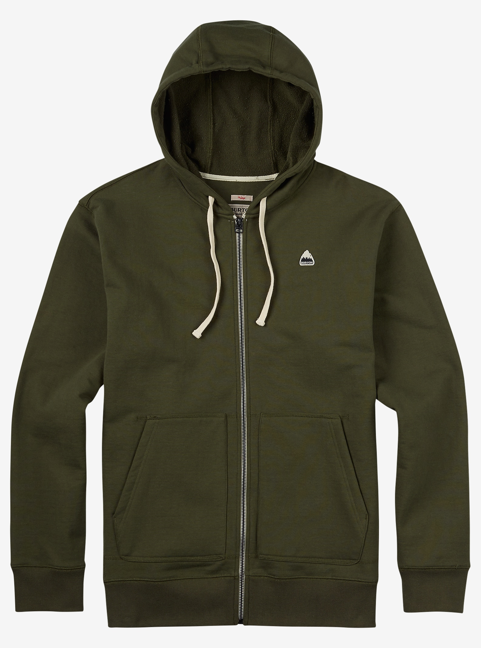 Burton Roe Full-Zip Hoodie shown in Keef