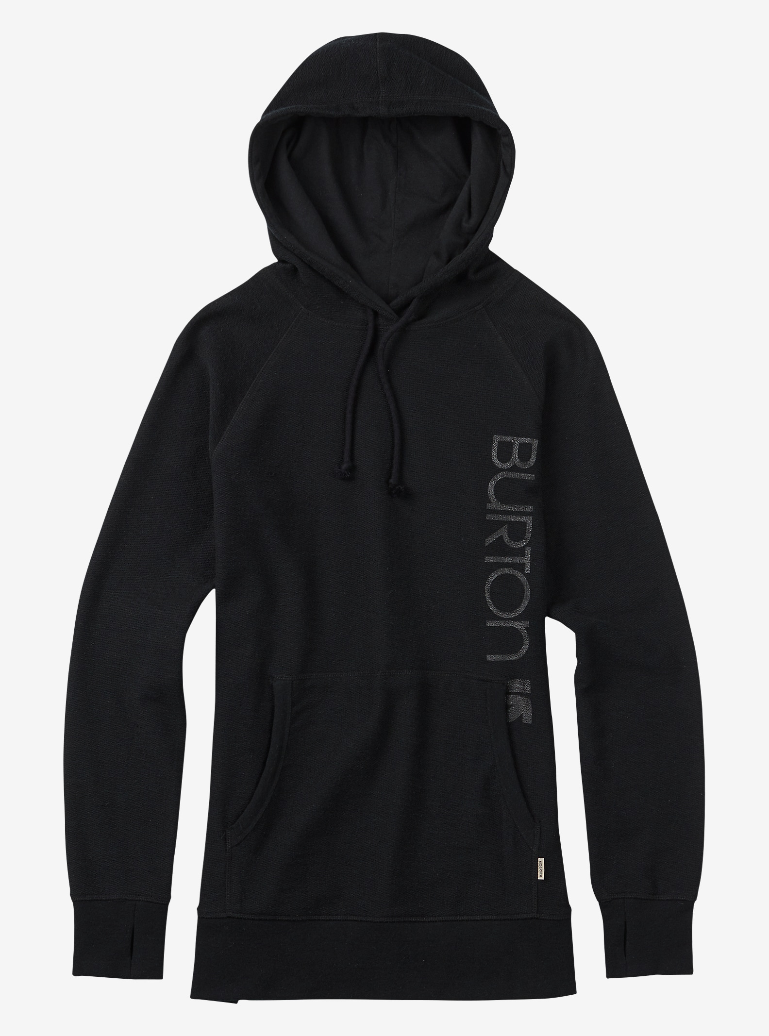 Burton Custom Antidote Pullover Hoodie shown in True Black