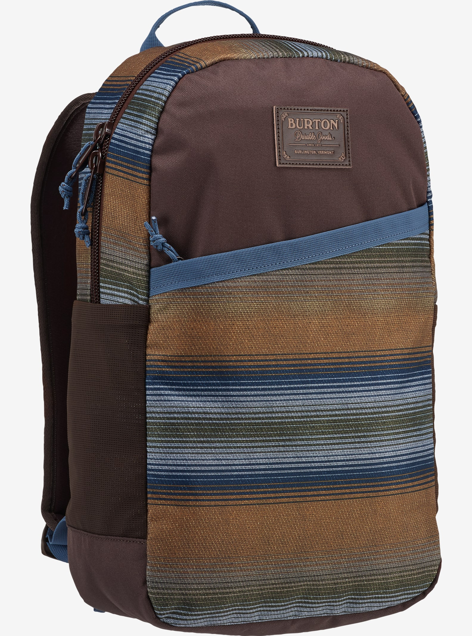 Burton Apollo Backpack shown in Beach Stripe Print