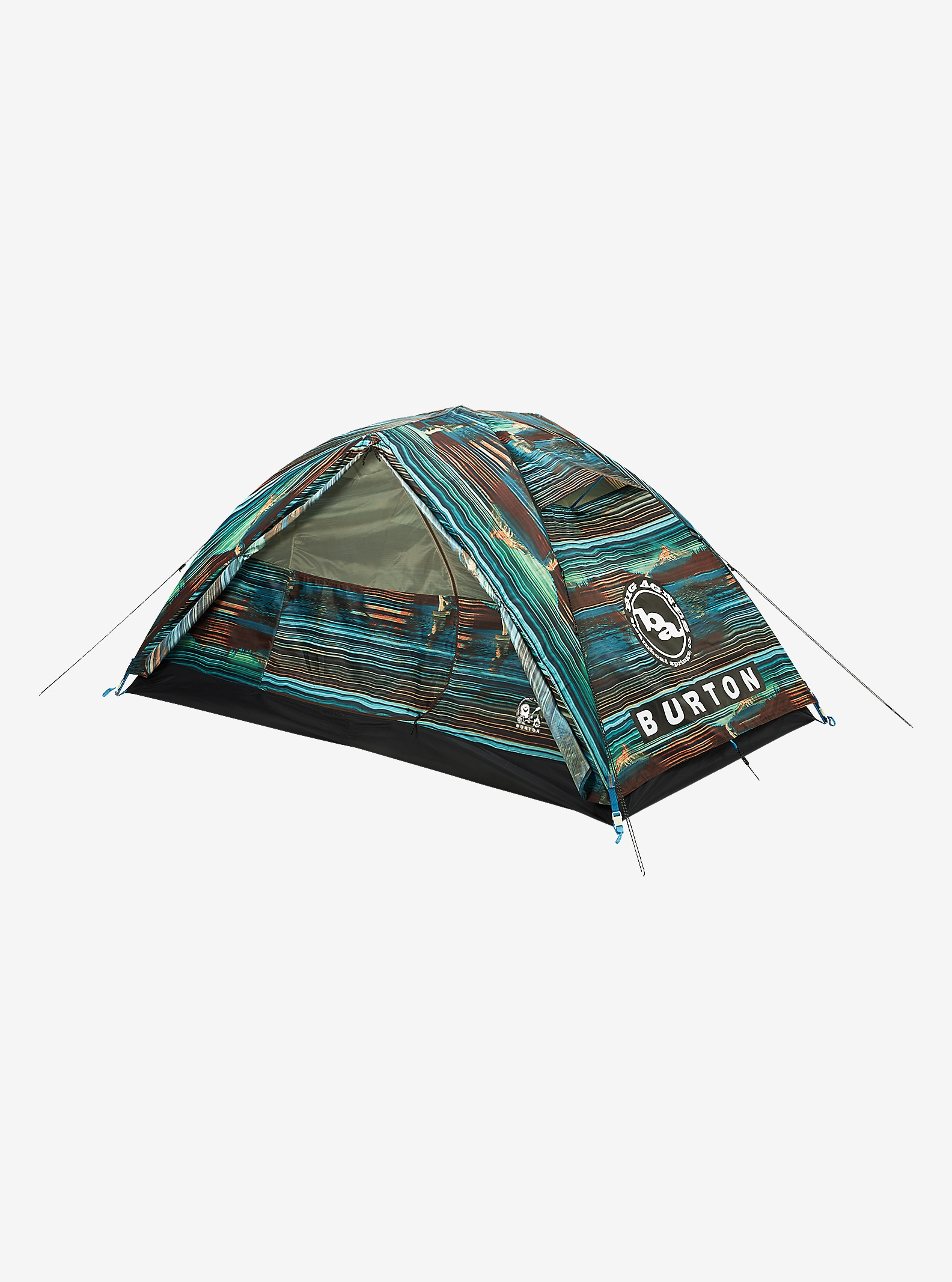Big Agnes x HCSC x Burton Nightcap Tent shown in HCSC Scout Bright