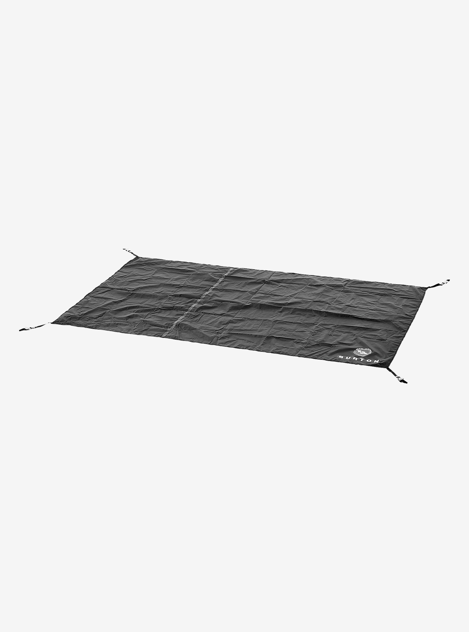 Big Agnes x Burton Nightcap Footprint shown in True Black