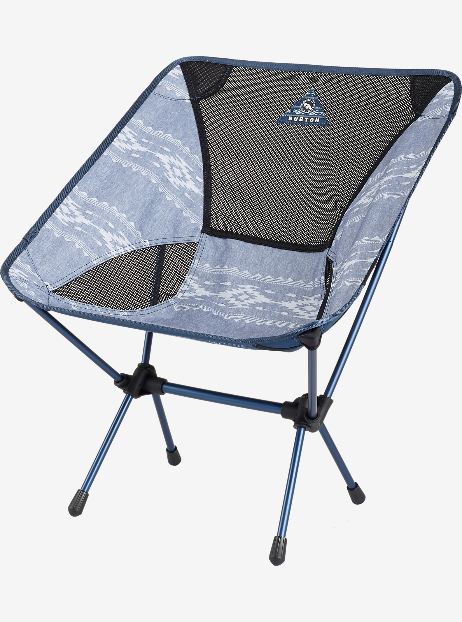 Big Agnes x Helinox x Burton Camp Chair shown in Famish Stripe