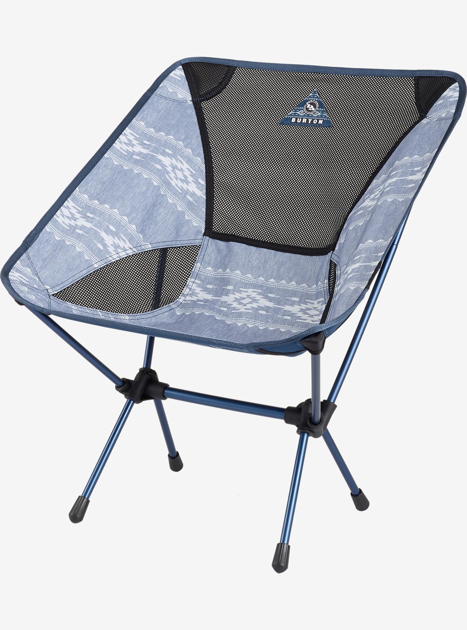 Big Agnes x Helinox x Burton Camp Chair shown in Famish Stripe