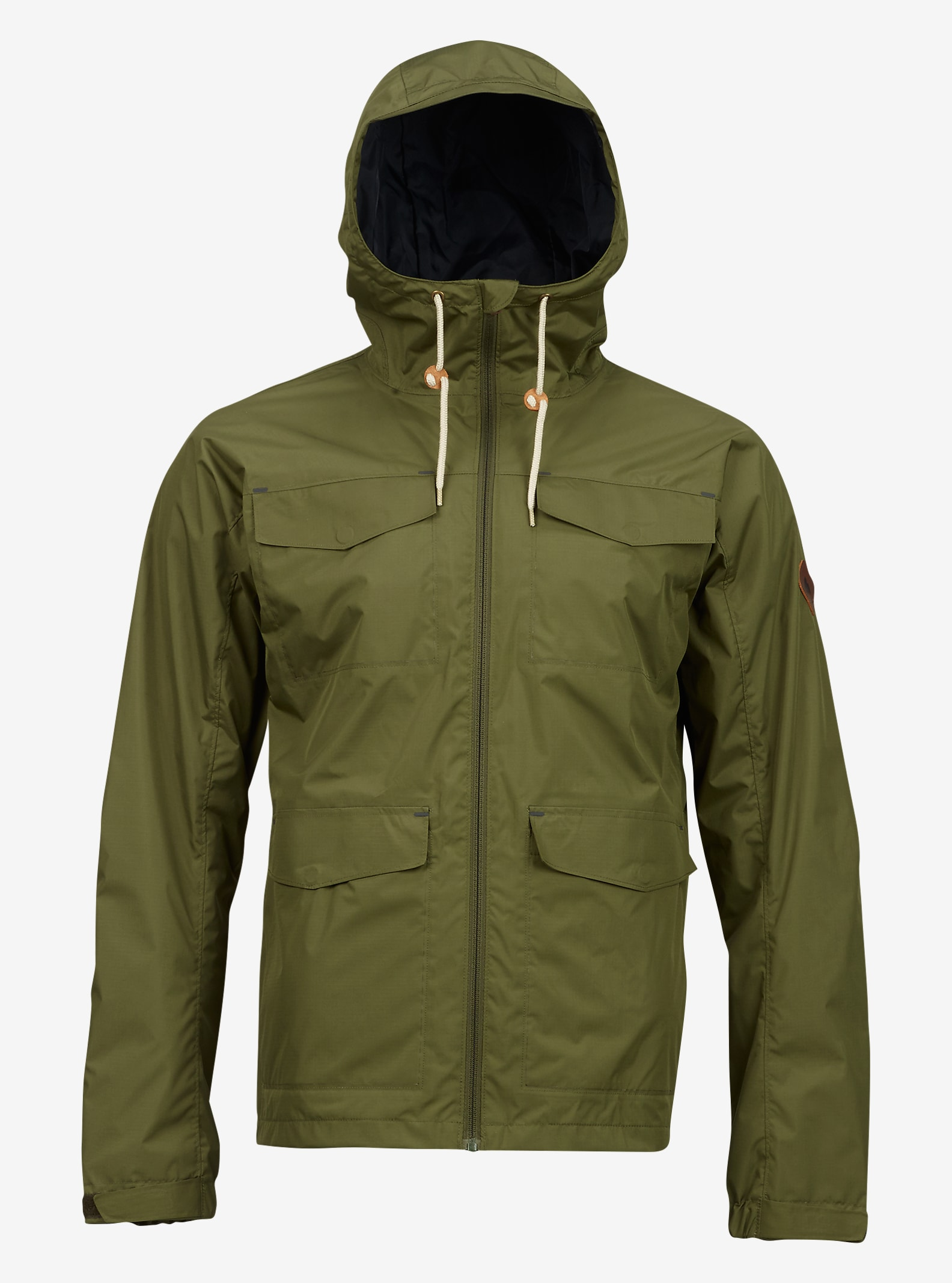 Burton Davis Jacket shown in Olive Night