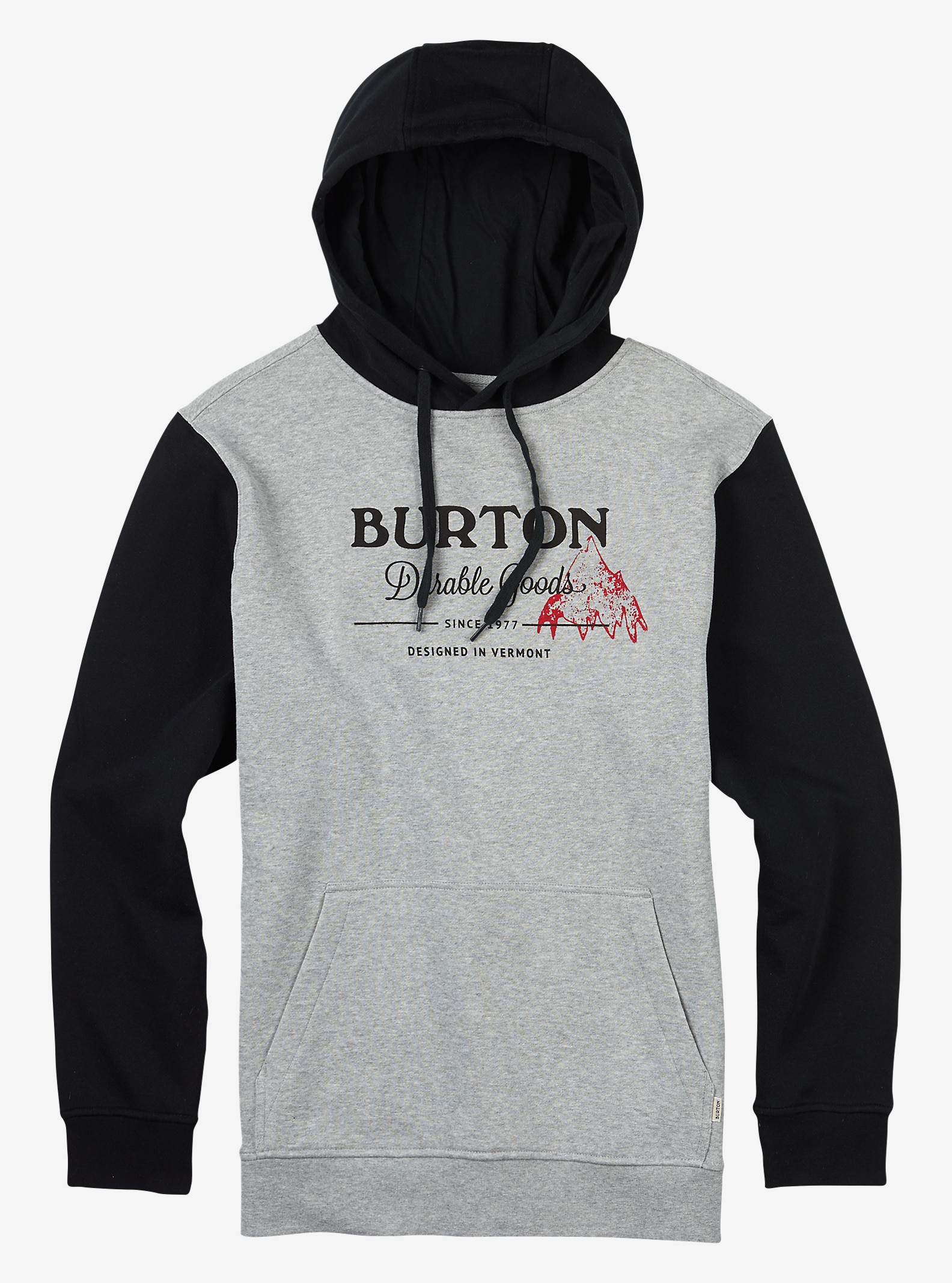 Burton Durable Goods Pullover Hoodie shown in Gray Heather