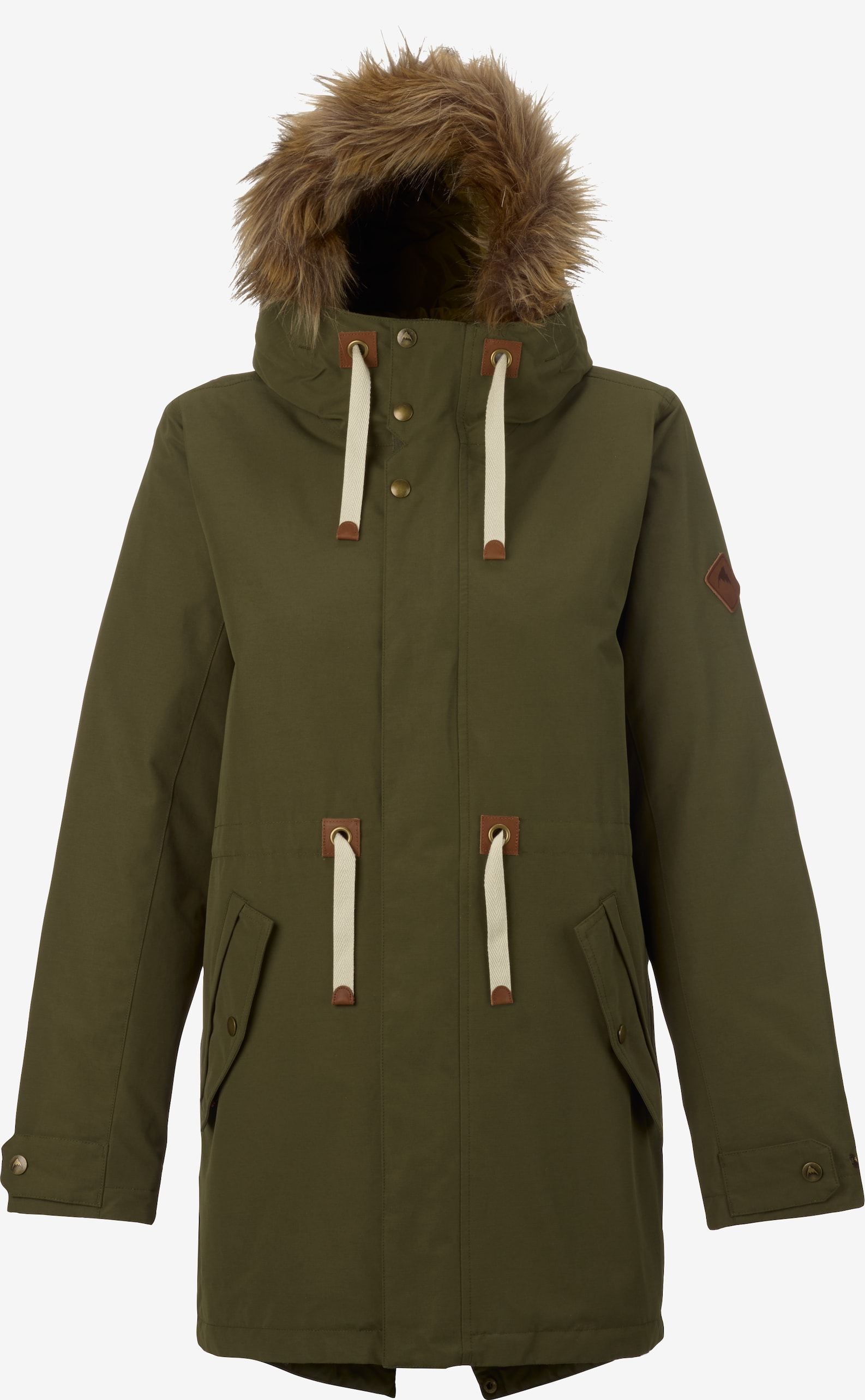 Burton Saxton Parka Jacket shown in Keef