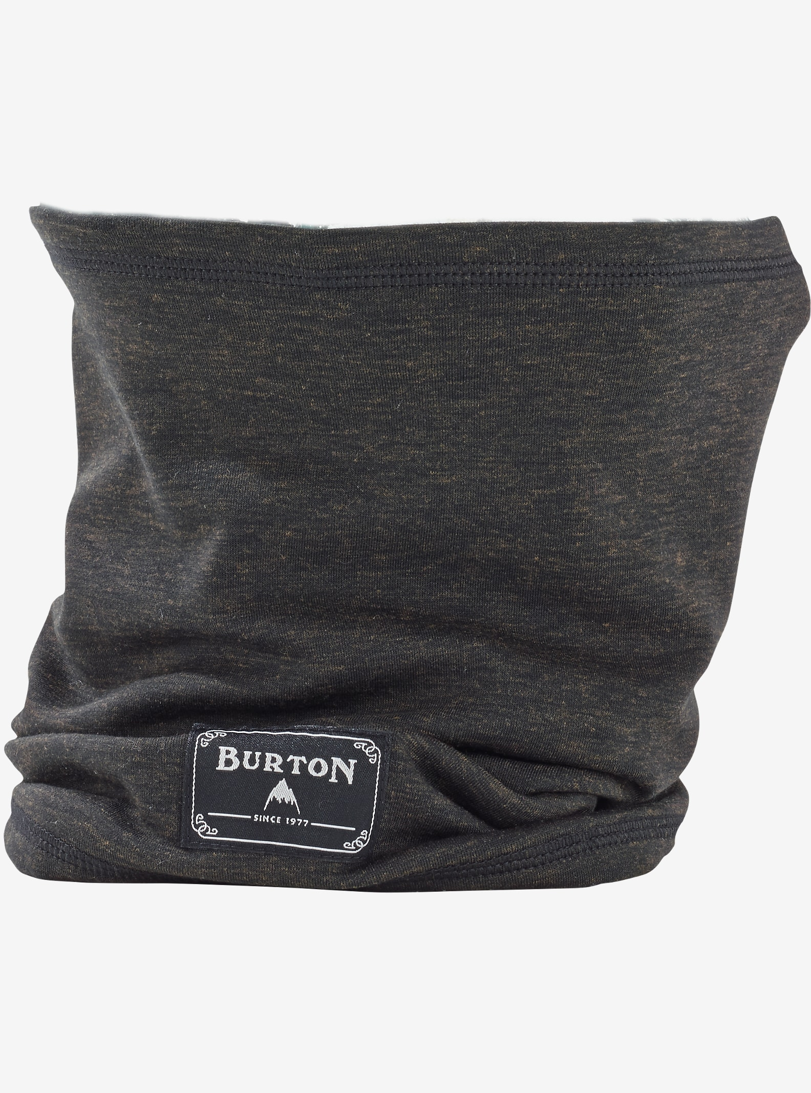 Burton drirelease® Wool Neck Warmer shown in True Black Heather