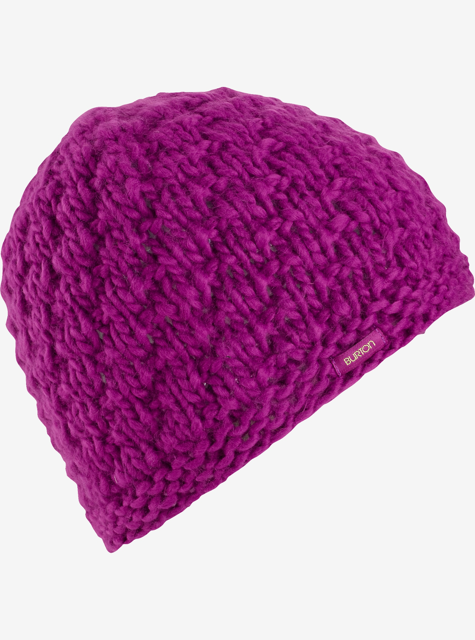 Burton Girls' Lil Bertha Beanie shown in Grapeseed