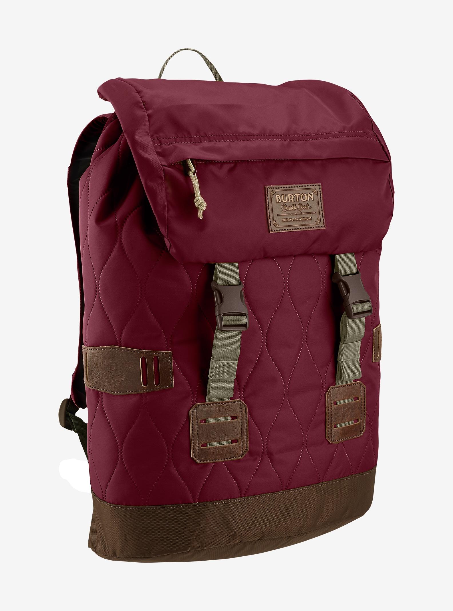 Burton Women's Tinder Backpack shown in Quilted Zinfandel