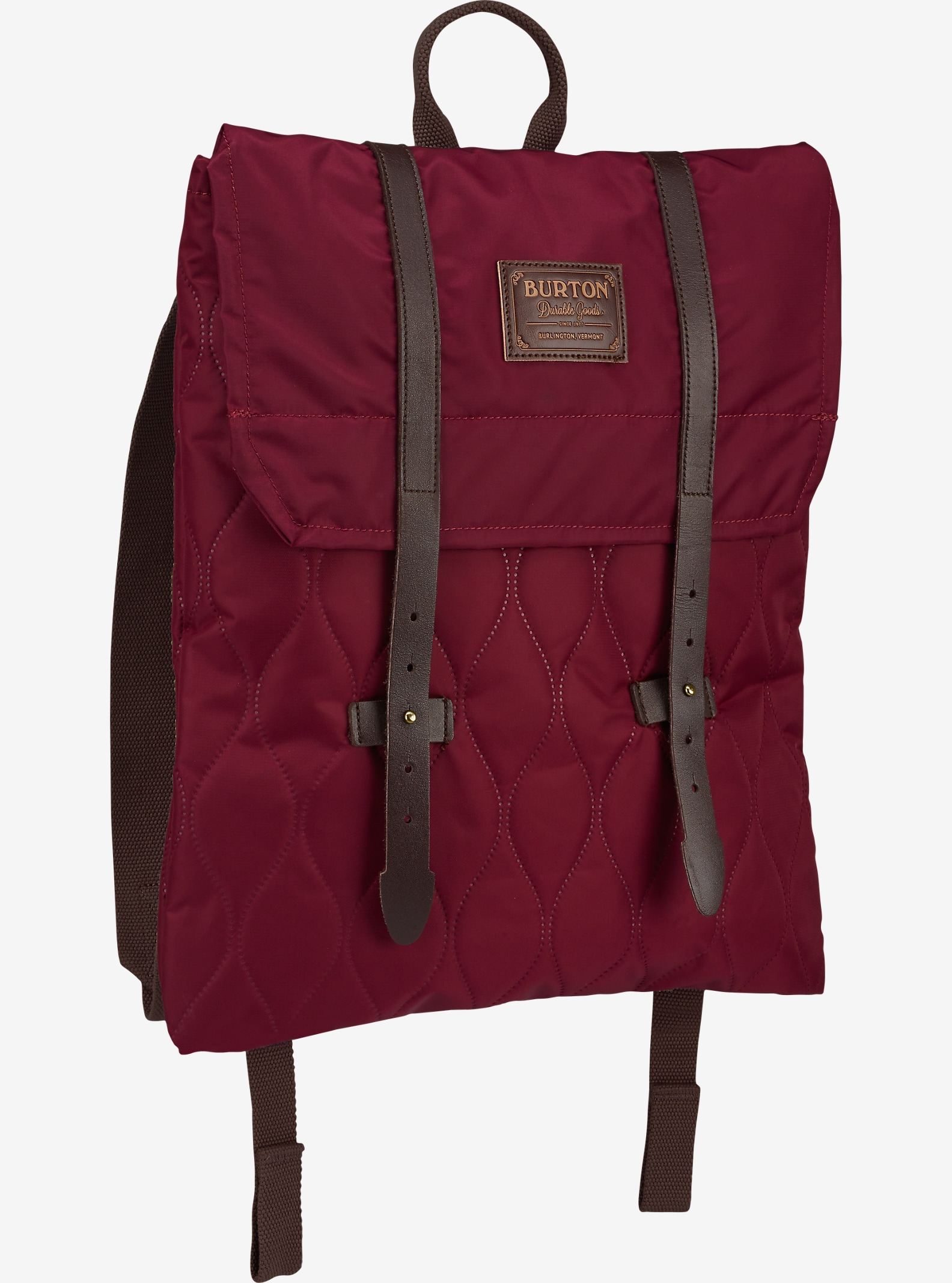 Burton Women's Taylor Backpack shown in Quilted Zinfandel