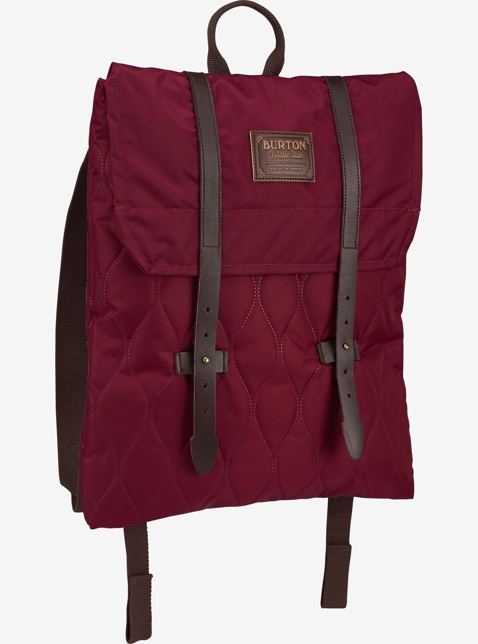 Burton Taylor Rucksack für Damen angezeigt in Quilted Zinfandel