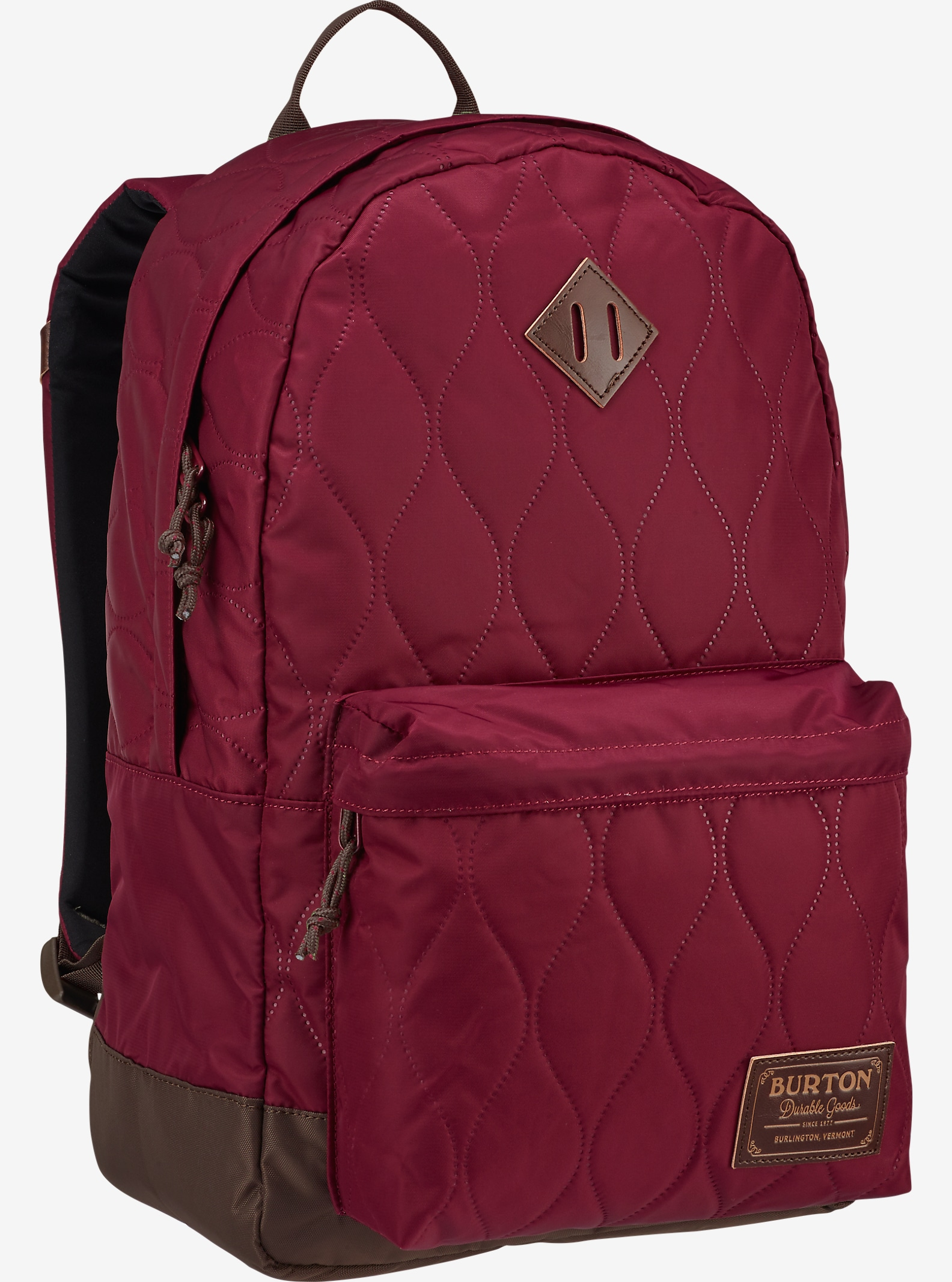 Burton Women's Kettle Backpack shown in Quilted Zinfandel
