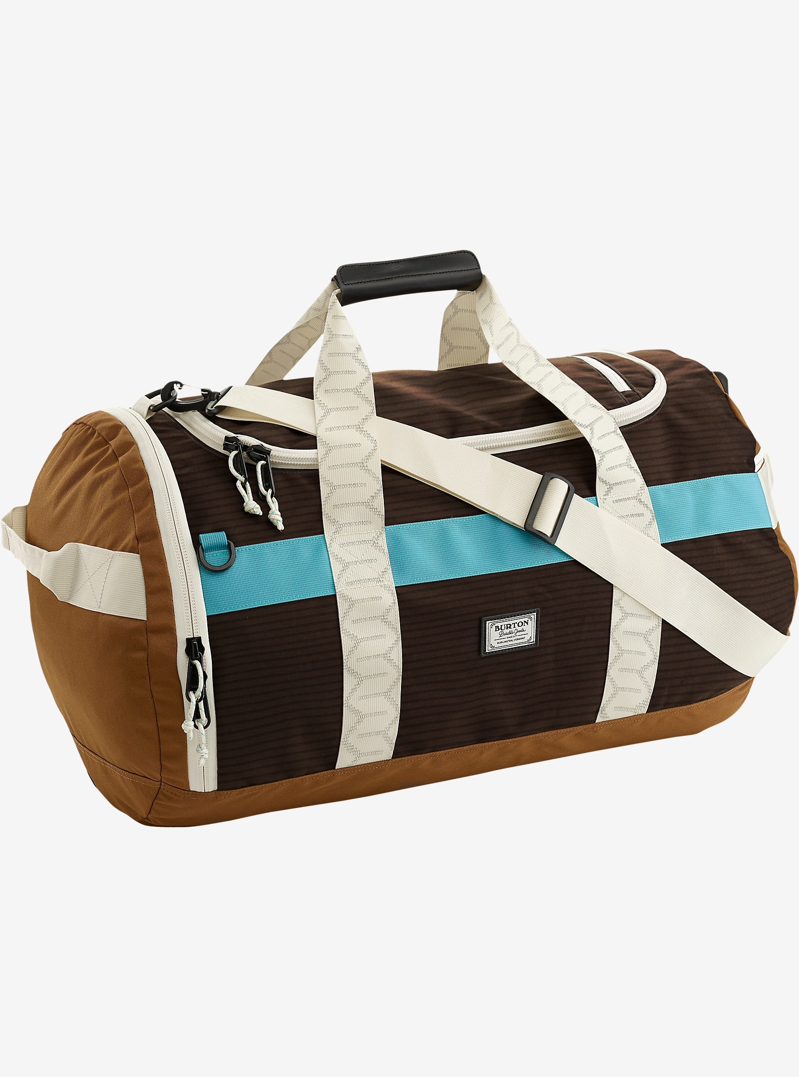Burton Backhill Duffel Bag Medium 70L shown in Beaver Tail Crinkle [bluesign® Approved]