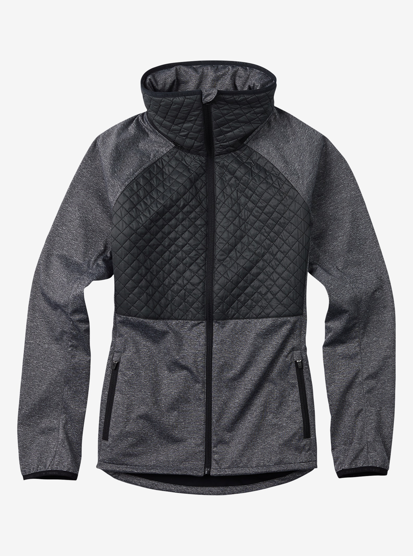 Burton Concept Softshell shown in True Black Heather