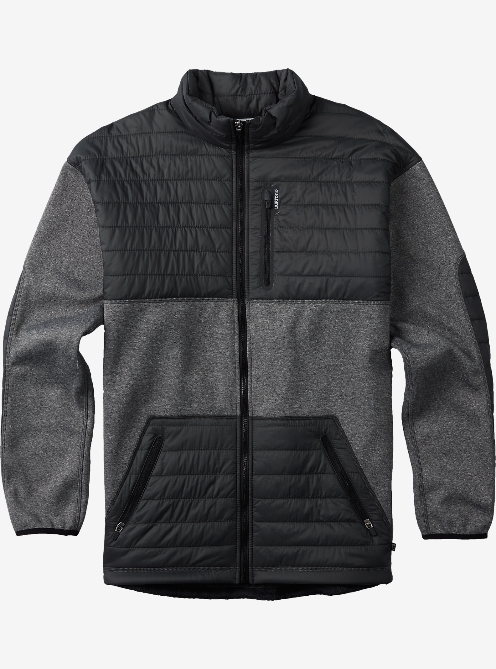Burton Backside Jacket shown in True Black
