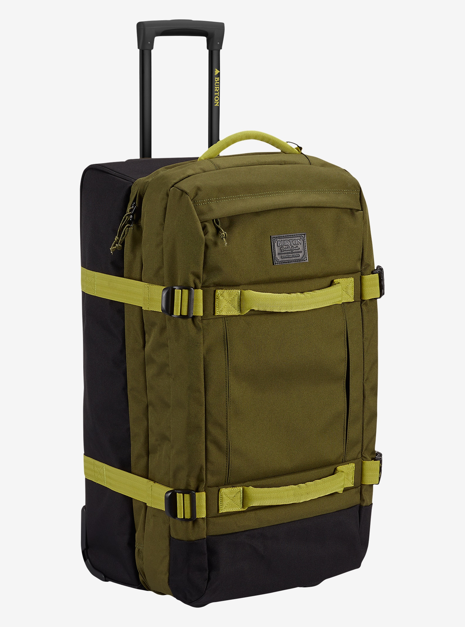 Burton Convoy Roller Travel Bag shown in Jungle [bluesign® Approved]