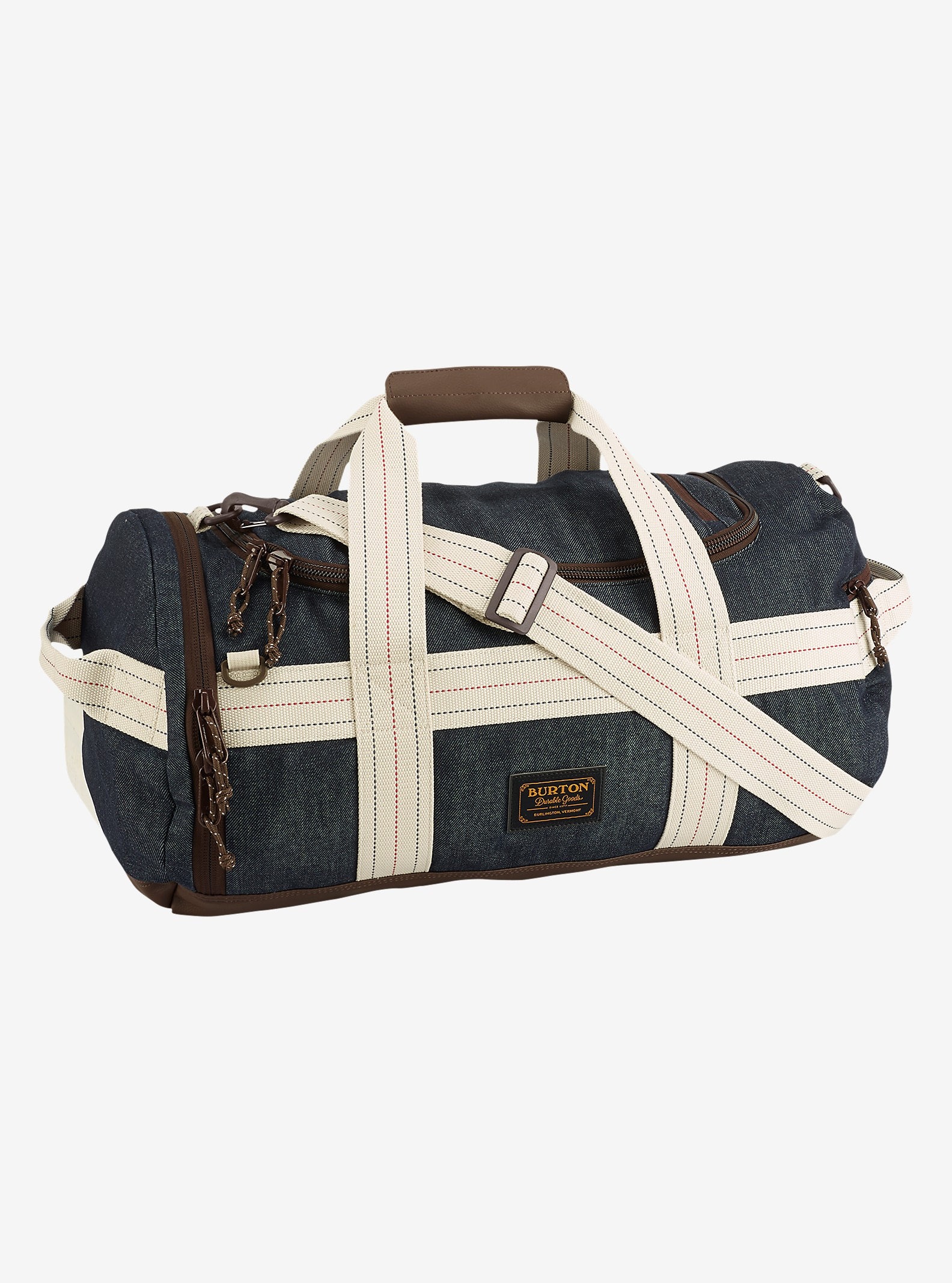 Burton Backhill Duffel Bag Small 40L shown in Denim