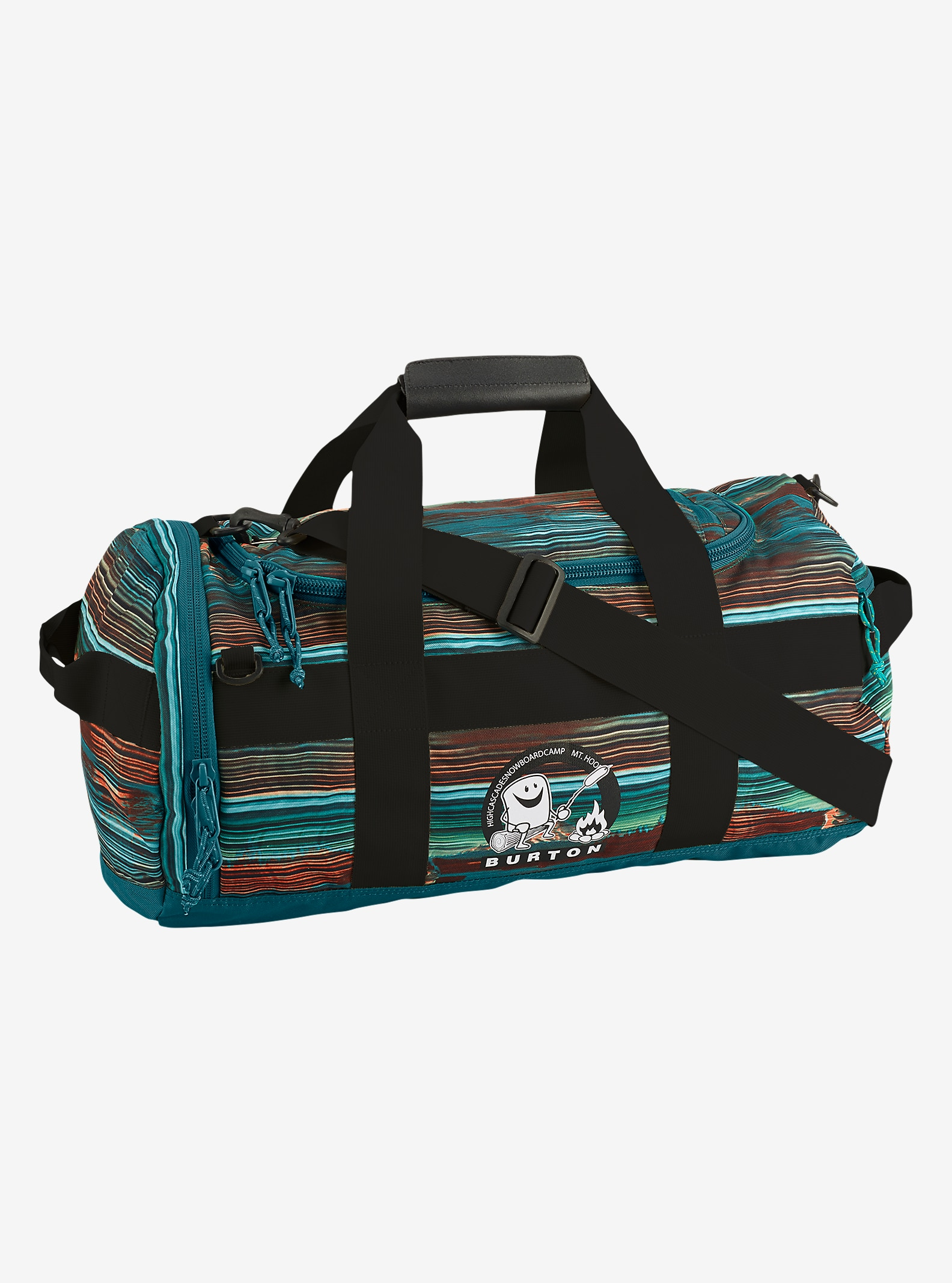 HCSC x Burton Backhill Duffel Small 40L shown in HCSC Scout Bright