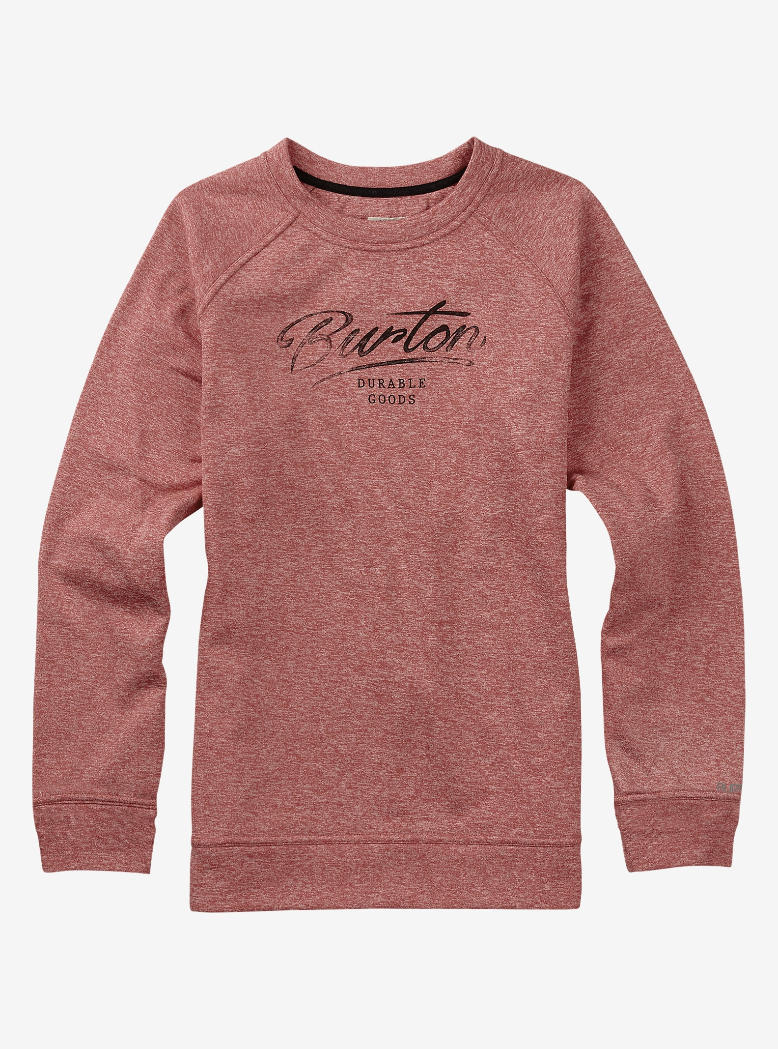 Burton Quartz Crew shown in Coral Heather