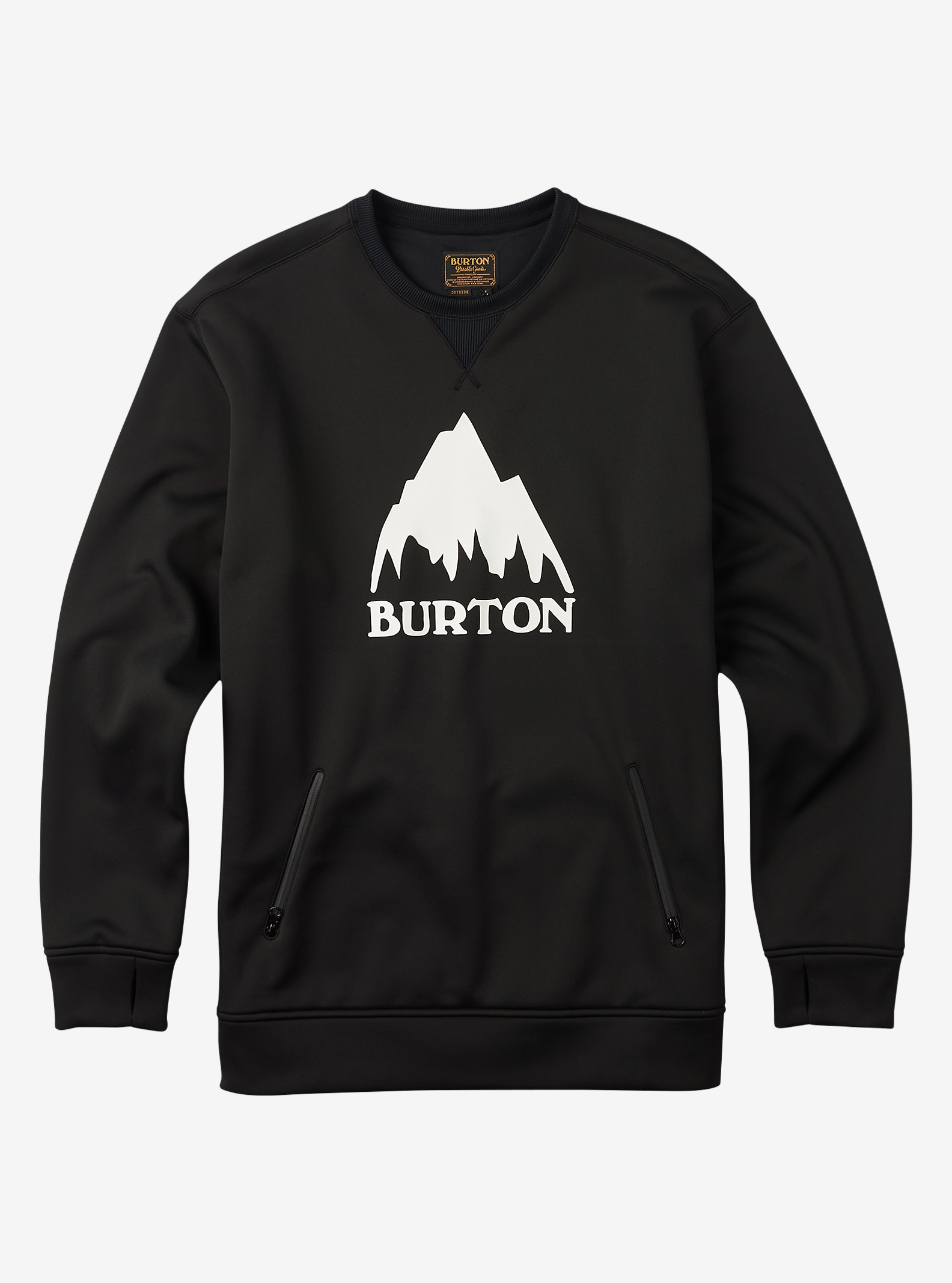 Burton Bonded Crew shown in True Black