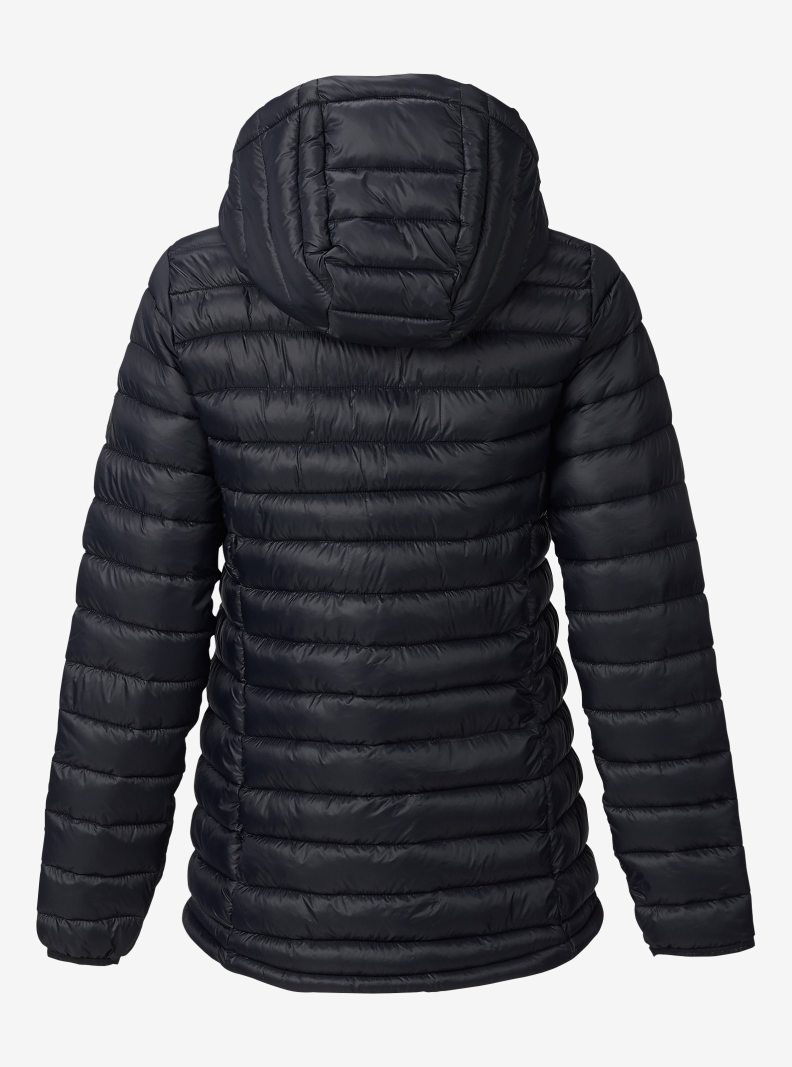 Burton Women's Evergreen Hooded Synthetic Insulator shown in True Black