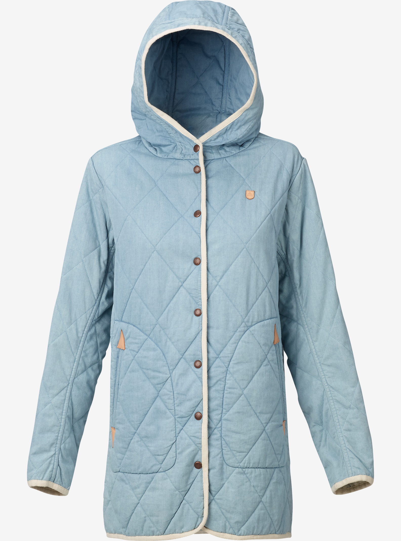Burton Gemmi Jacket shown in Indigo Herringbone