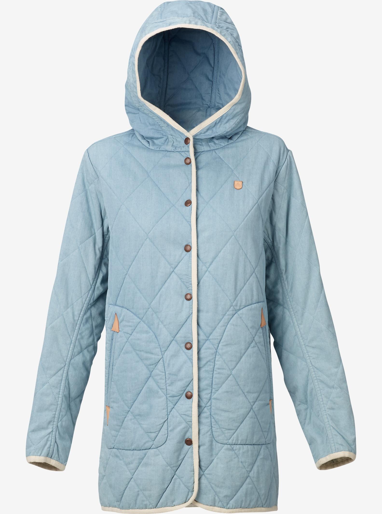 Burton Gemmi Jacket shown in Indigo Herringbone