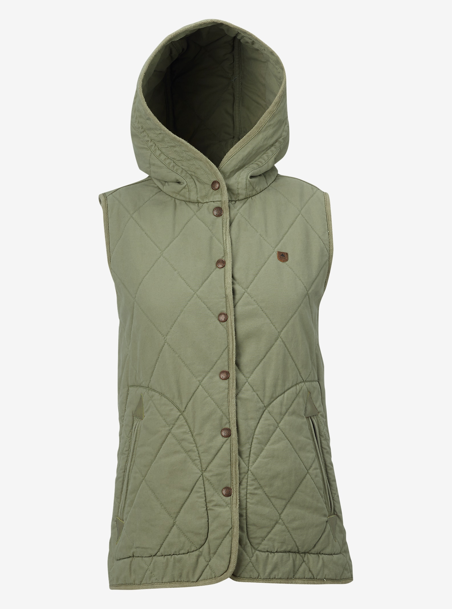 Burton Gemmi Vest shown in Vetiver