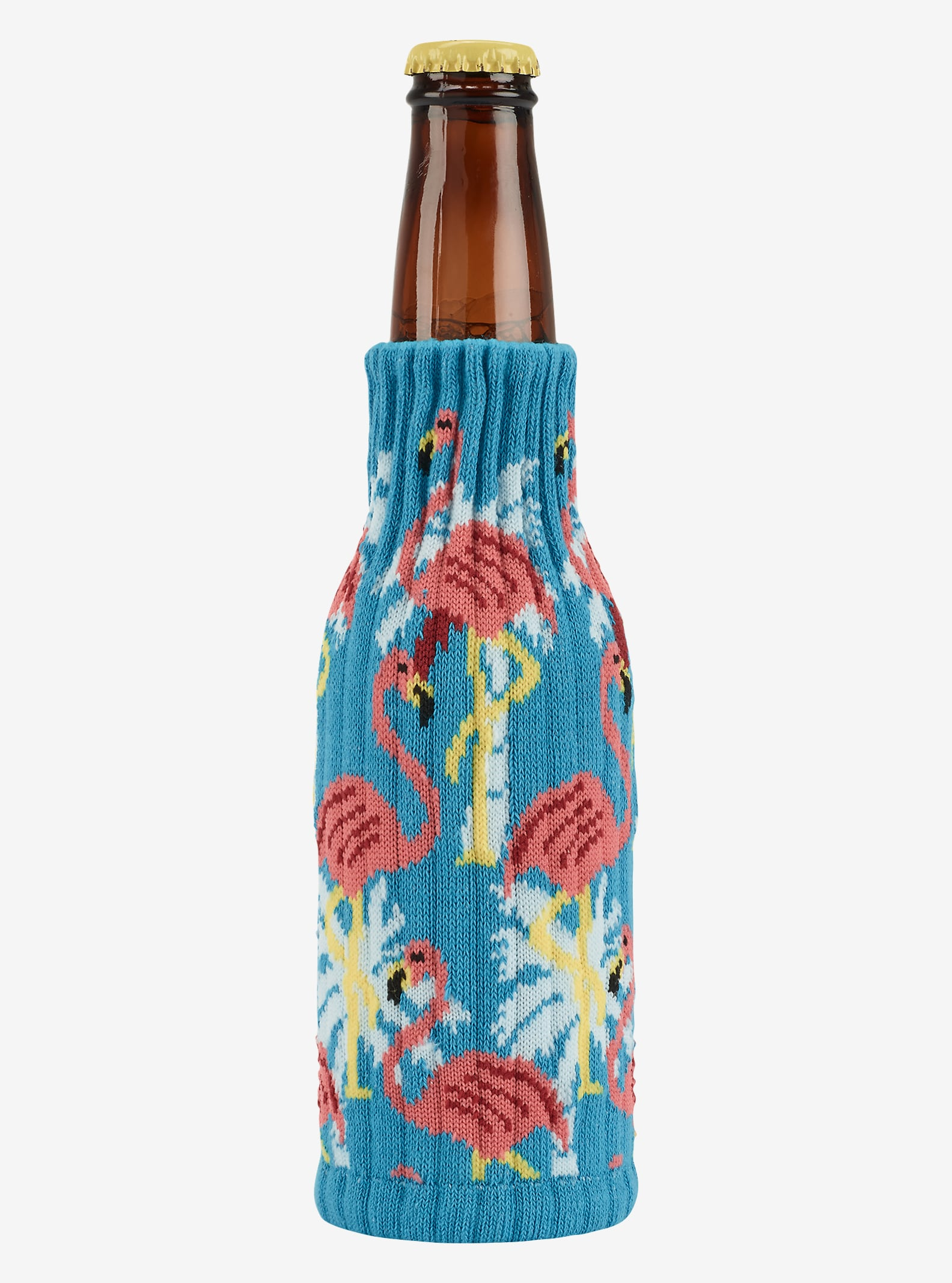 Burton Knit Koozie shown in Flamingo