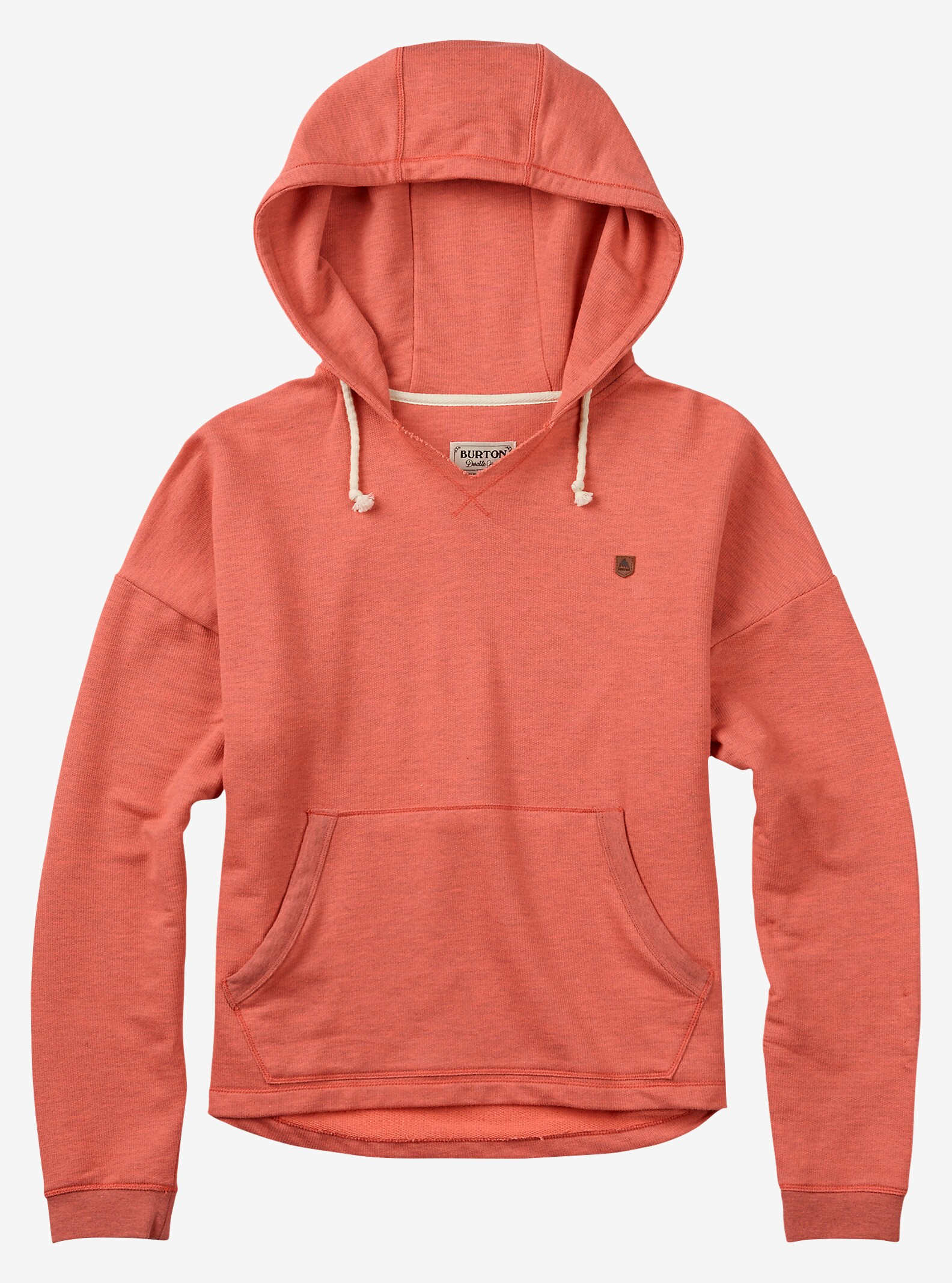 Burton Favorite Pullover Hoodie shown in Sashimi Heather