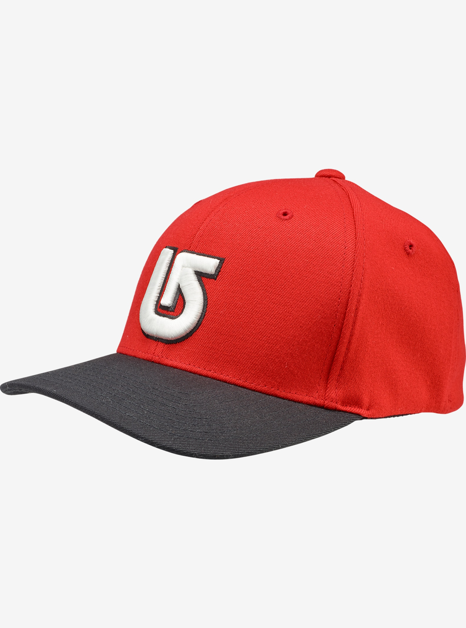 Burton Boys' Striker Flex Fit Hat shown in Process Red