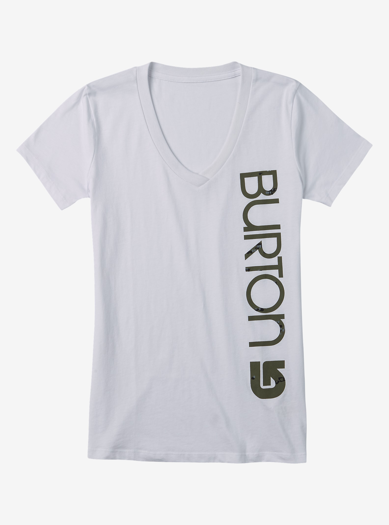Burton Antidote Short Sleeve T Shirt shown in Stout White