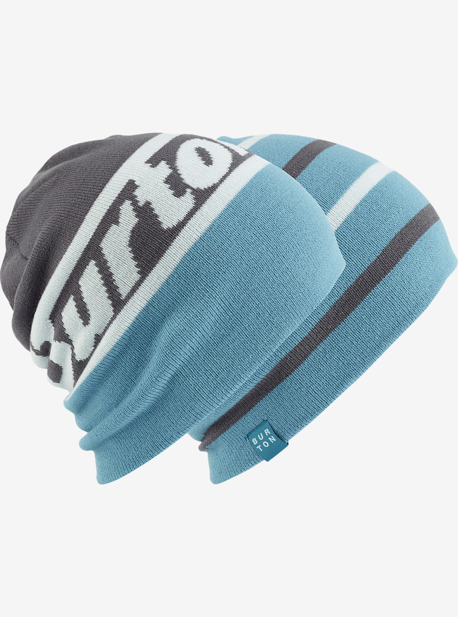 Burton Beanie 2-Pack - Reversible shown in Faded / Larkspur