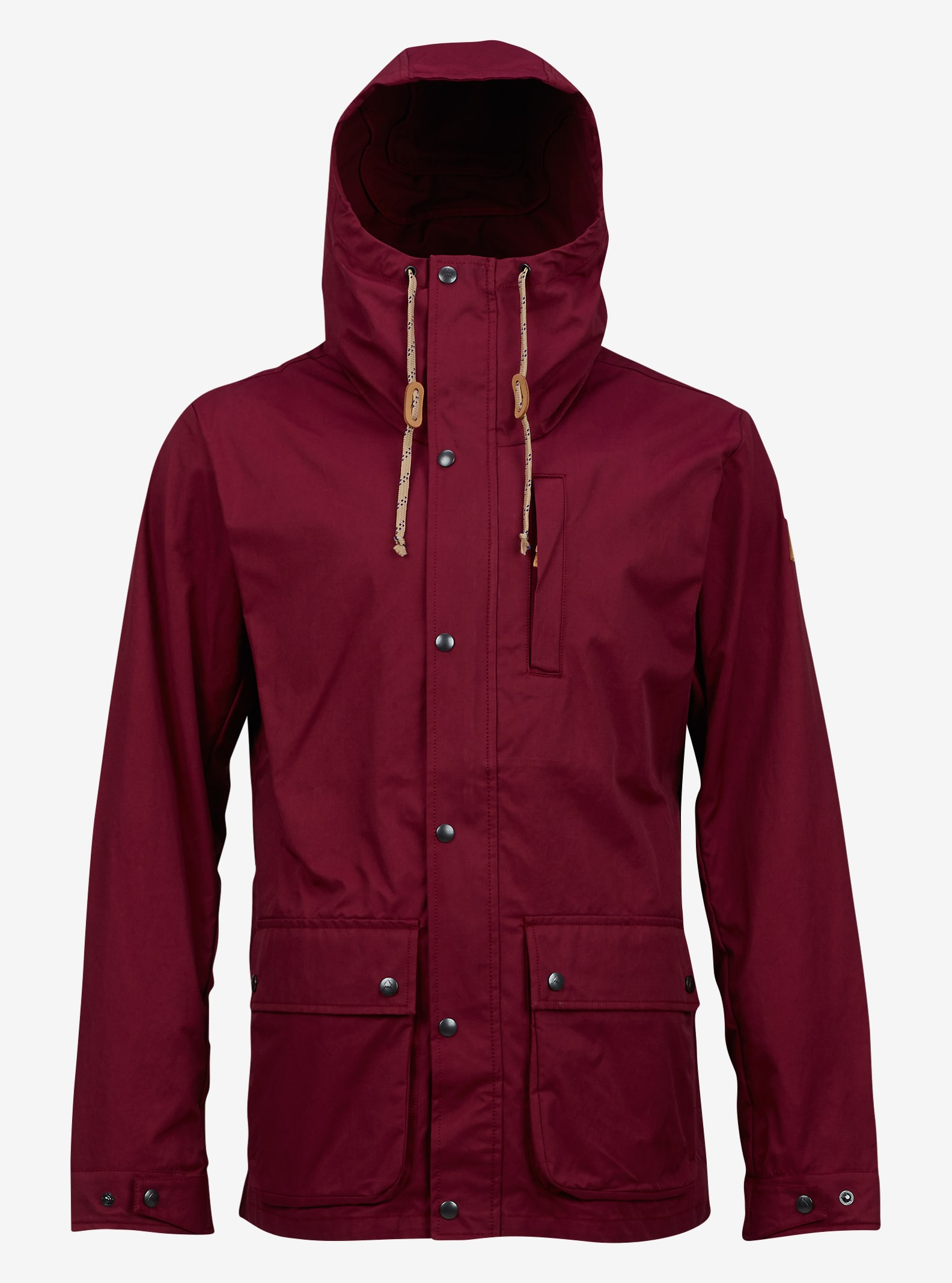 Burton Boroughs Parka shown in Wino