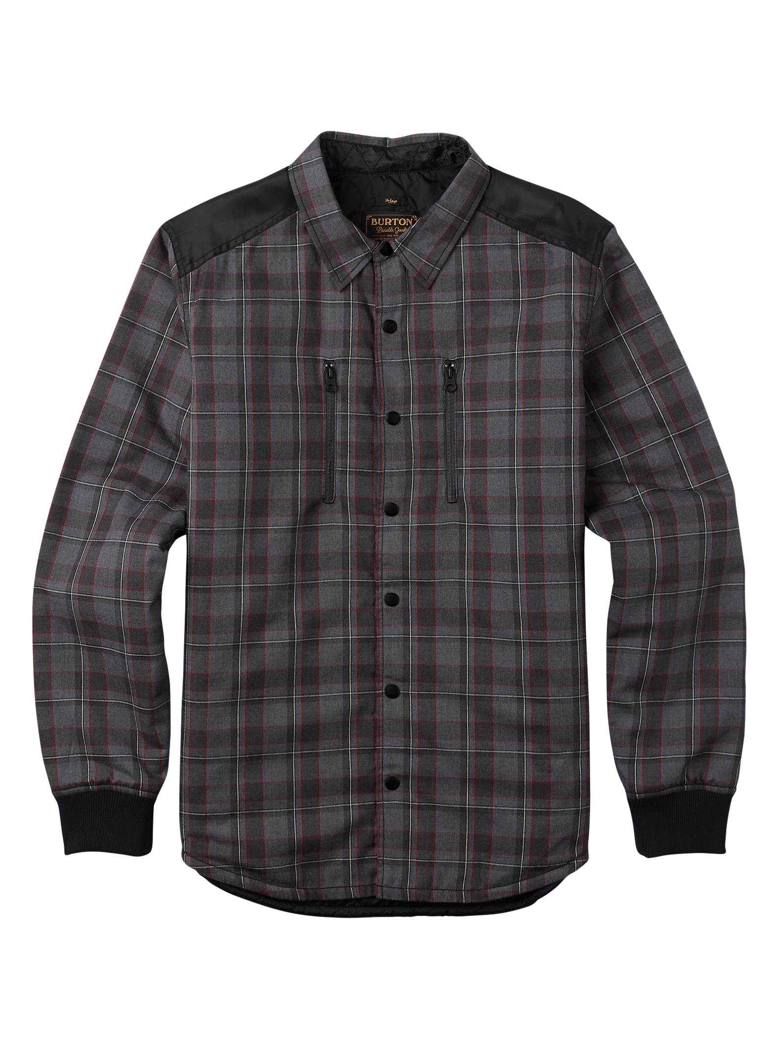 Burton Field Quilted Flannel | Burton Snowboards Fall 16 : quilted flannel jacket with hood - Adamdwight.com