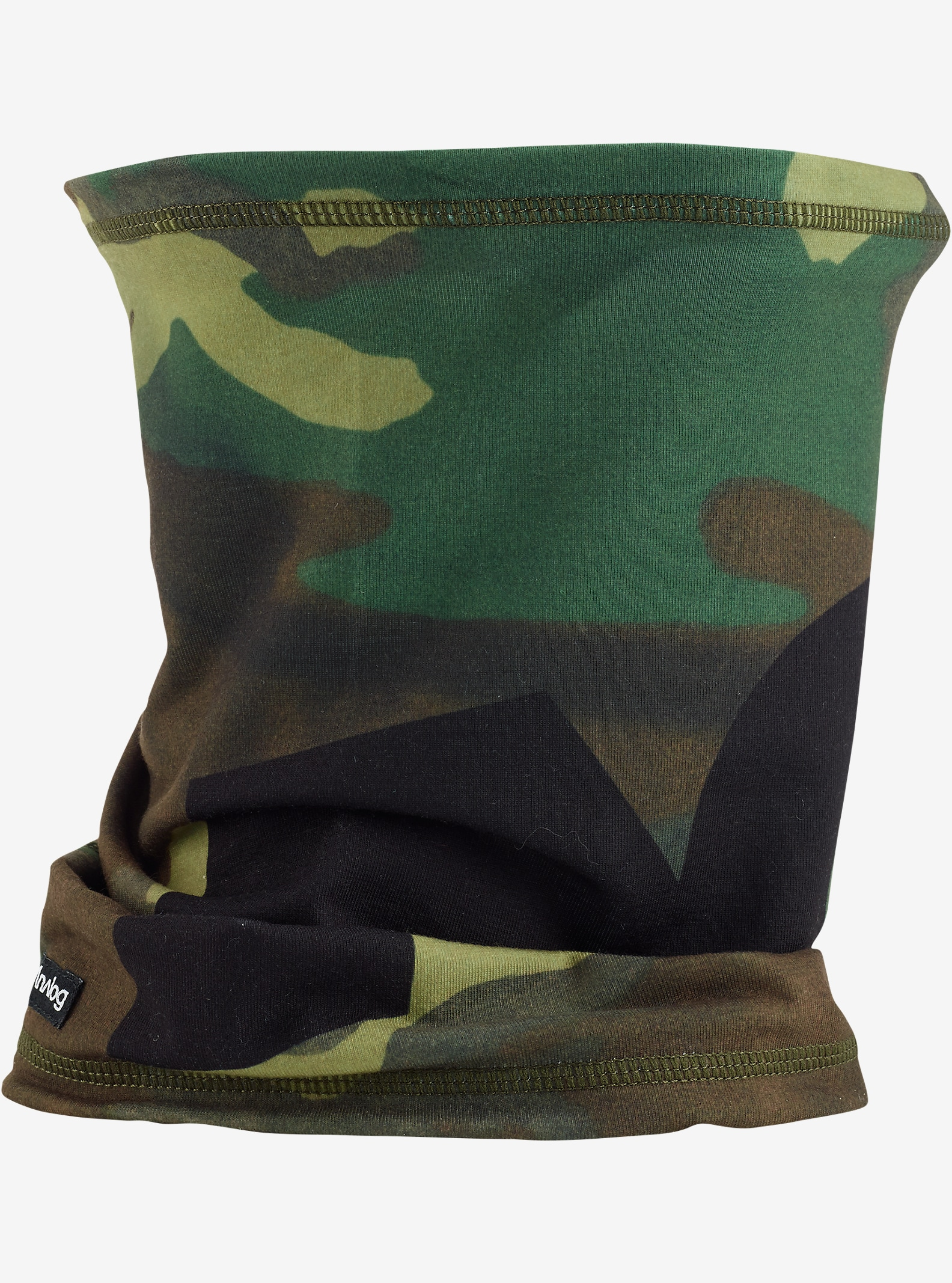 Analog Icon Neck Warmer shown in Surplus Camo
