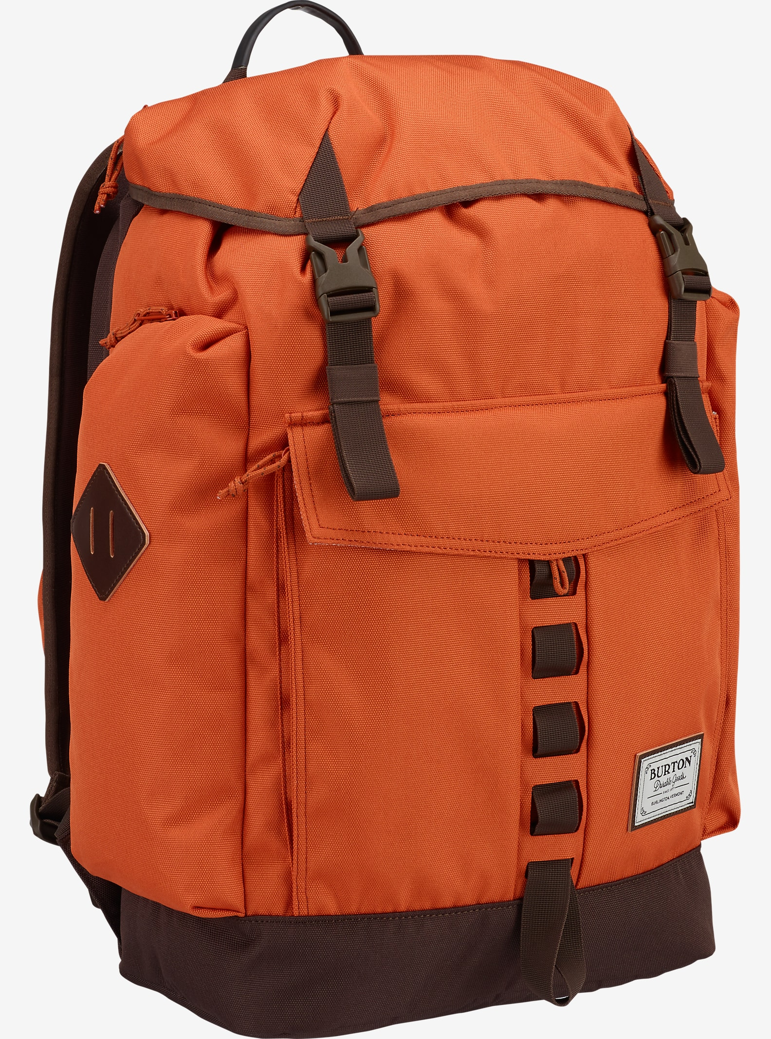 Burton Fathom Backpack shown in Burnt Ochre [bluesign® Approved]
