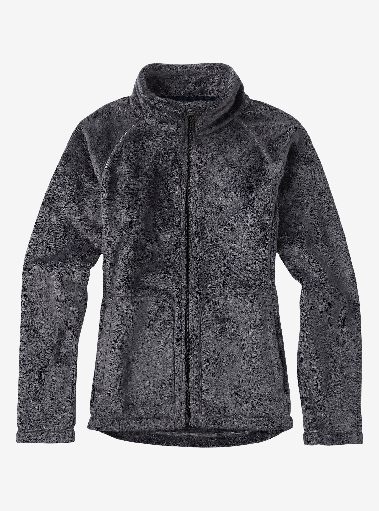 Burton Mira Full-Zip Fleece shown in True Black