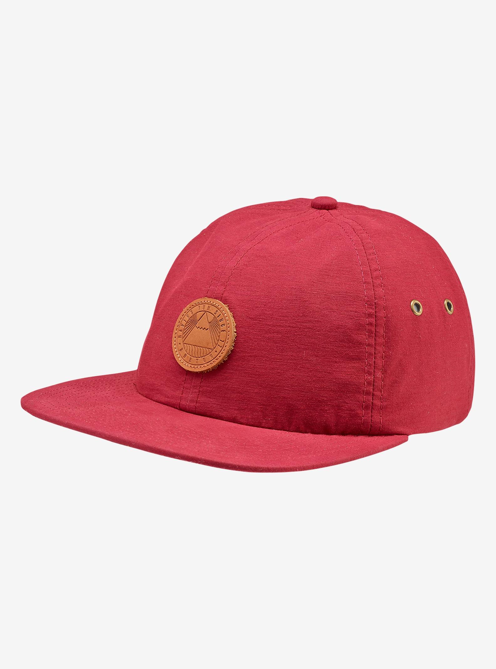 Burton Union Snapback Hat shown in Wino
