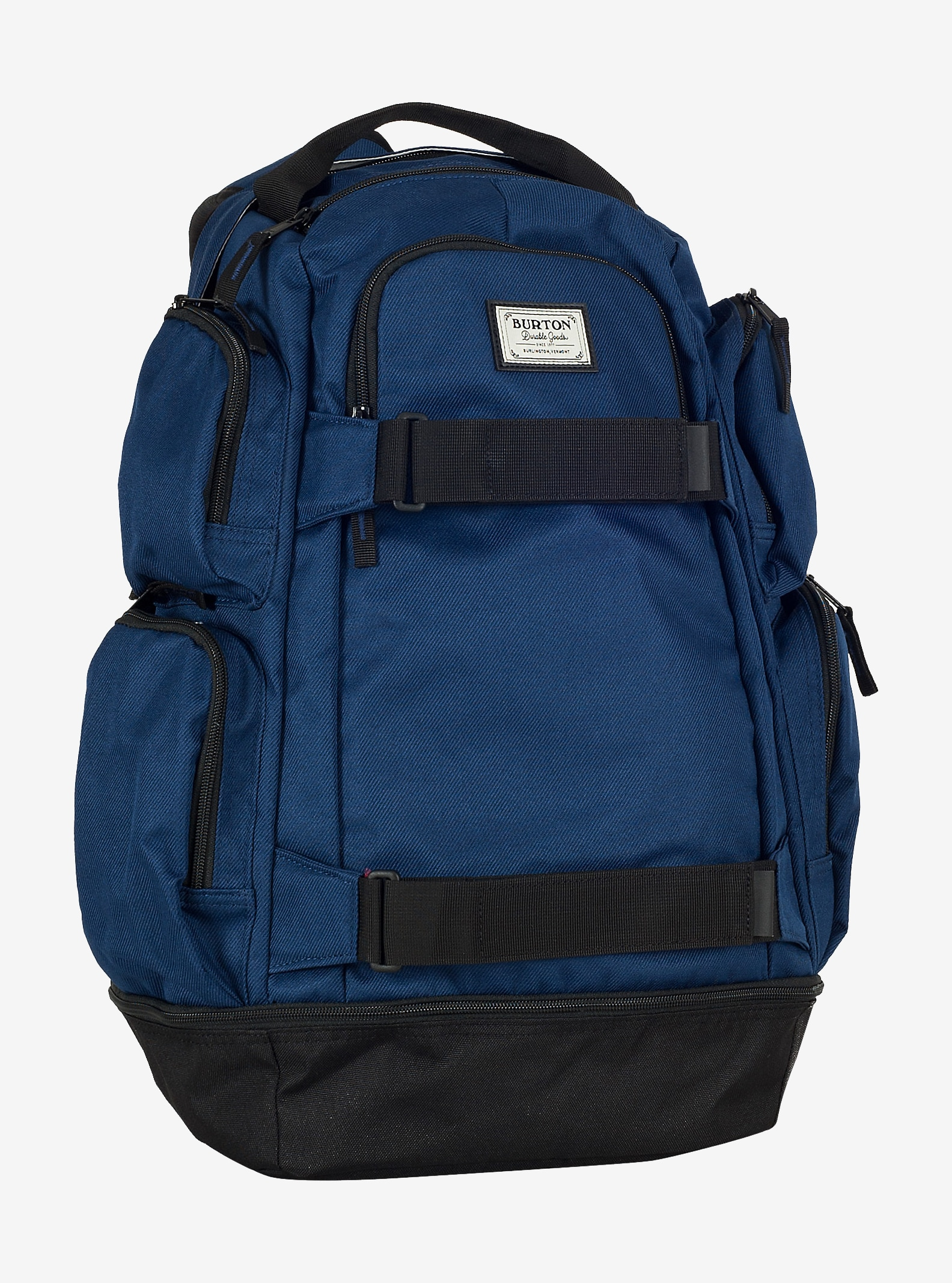 Burton Distortion Pack shown in Medieval Blue Twill