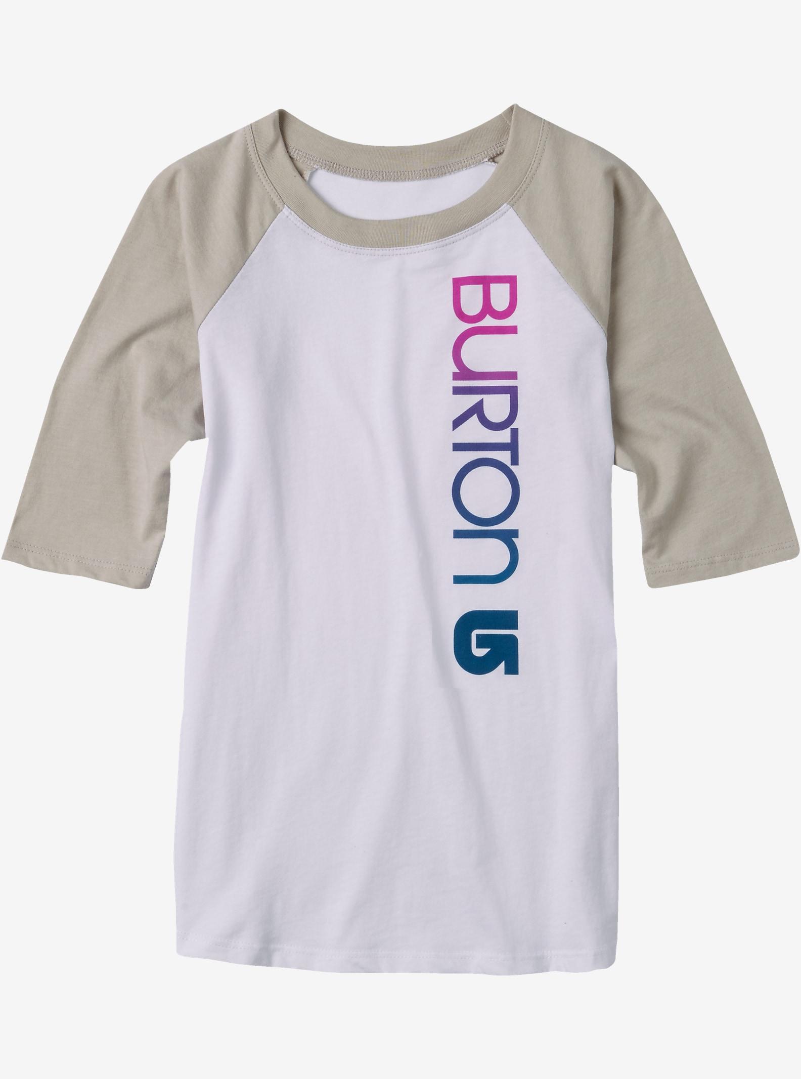 Burton Antidote Raglan Long Sleeve Shirt shown in Stout White