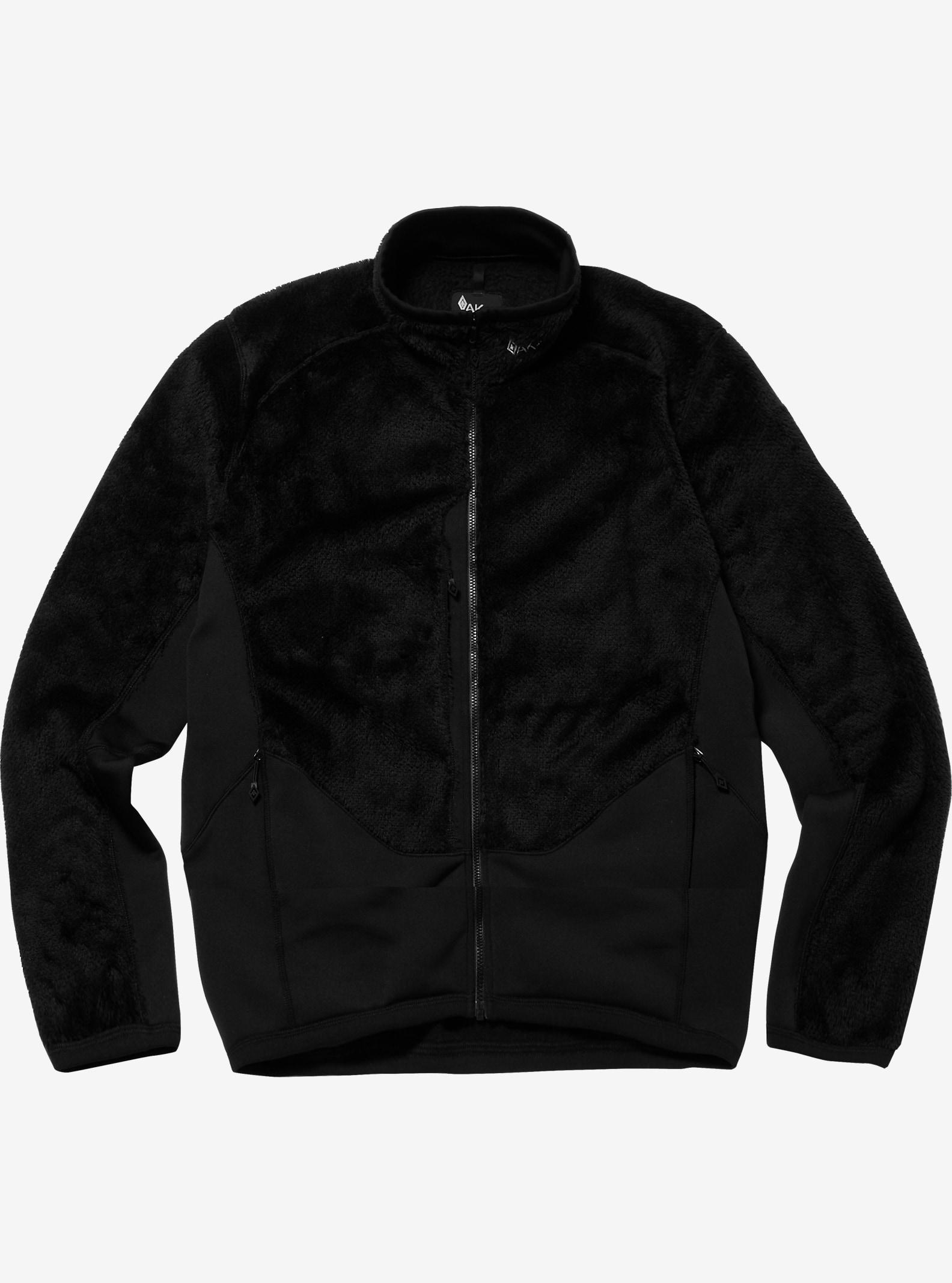 Burton AK457 Mid Fleece Jacket shown in True Black