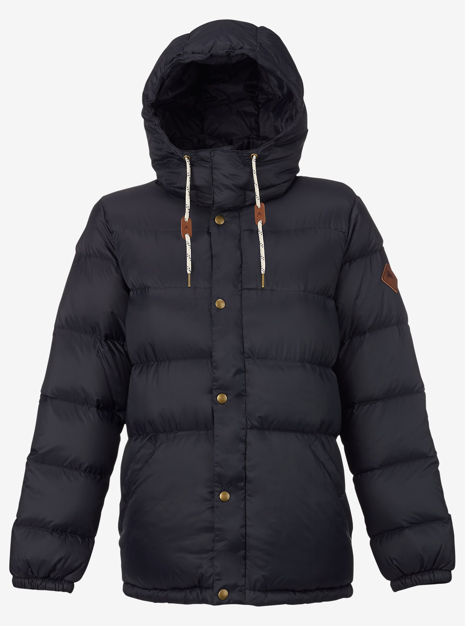 Burton Heritage Down Jacket shown in True Black