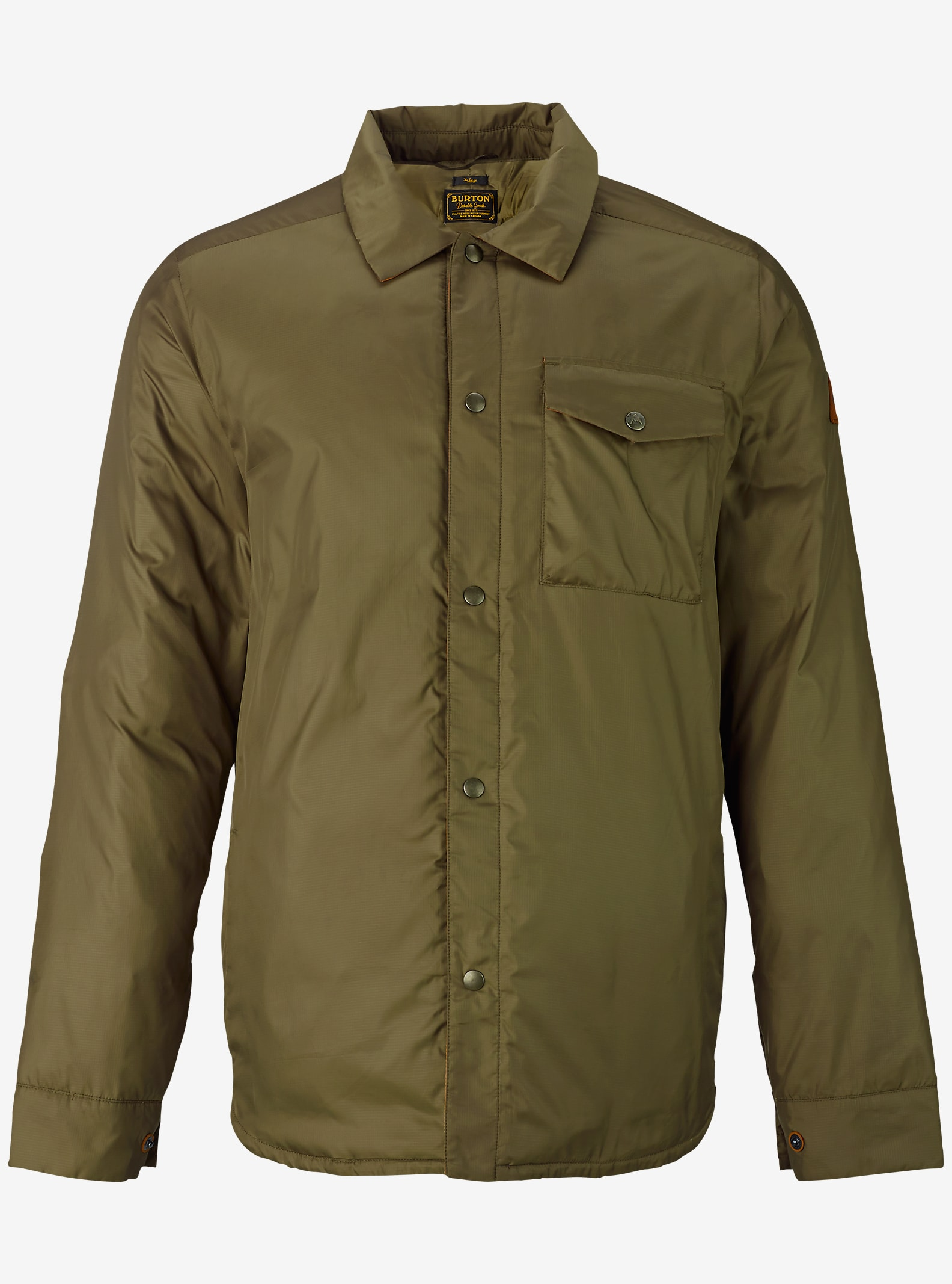 Burton Wayland Down Shirt shown in Keef