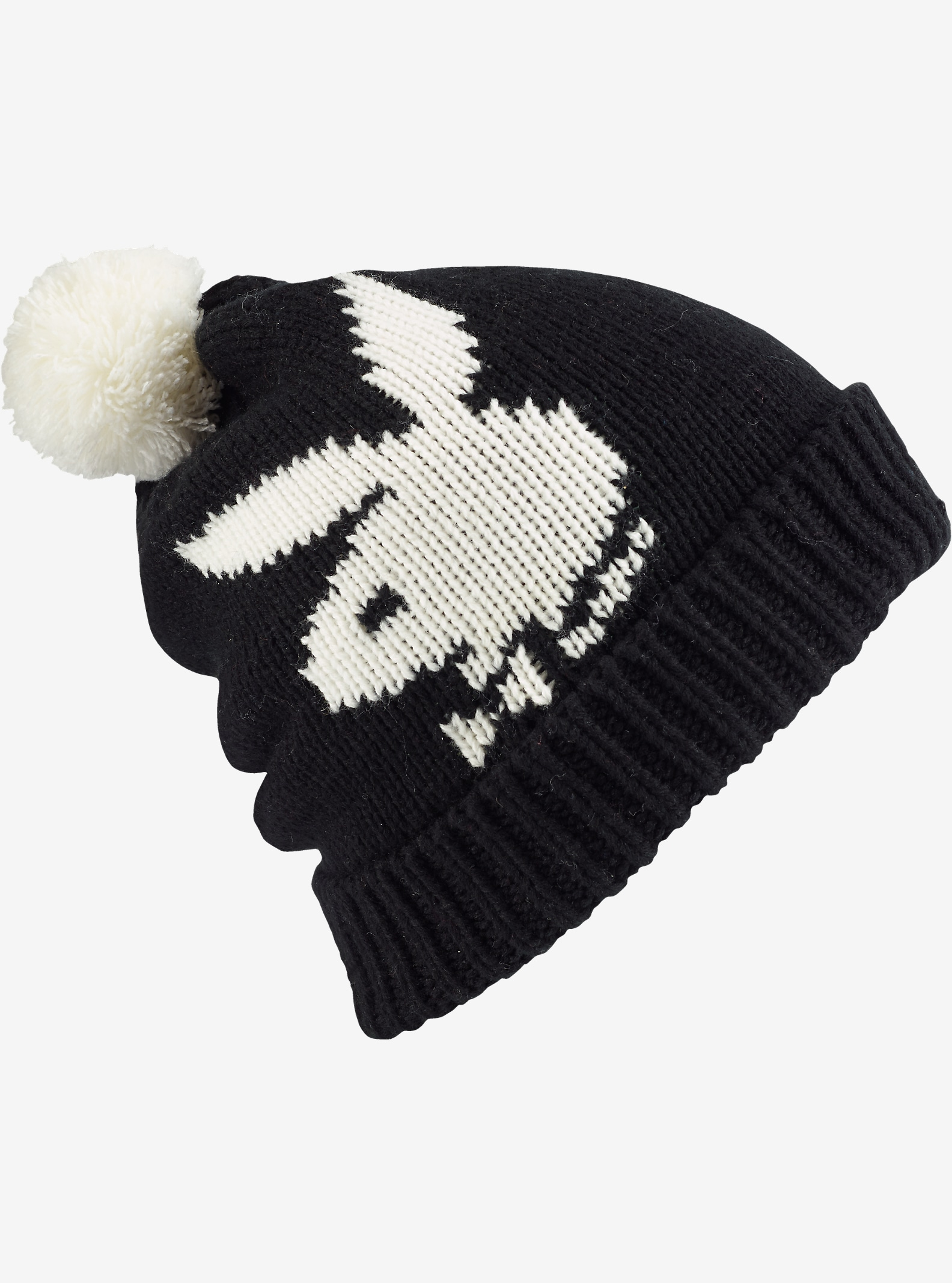 Burton x Playboy Beanie shown in True Black
