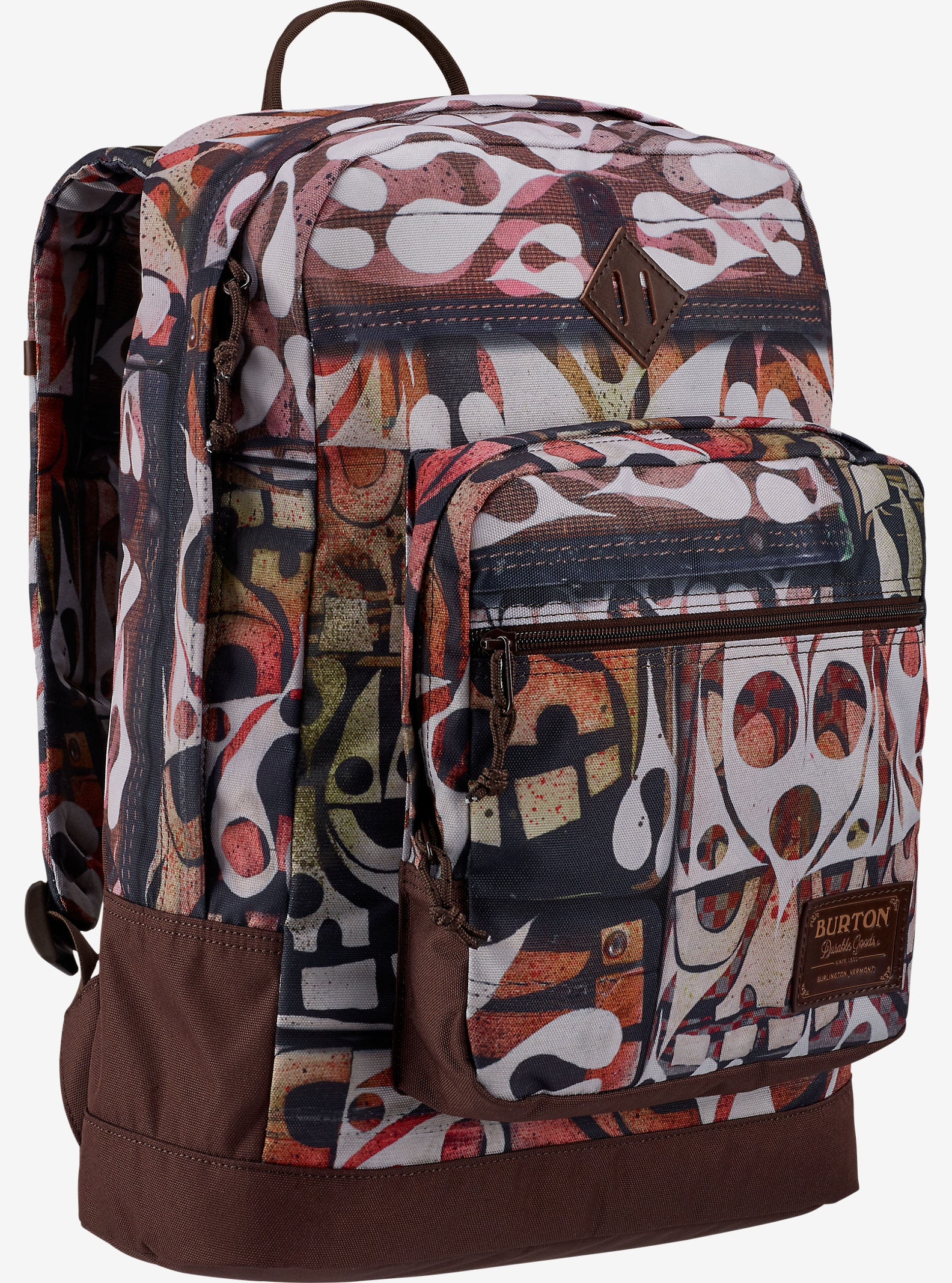 Phil Frost × G Pen × Burton Big Kettle Backpack shown in Phil Frost